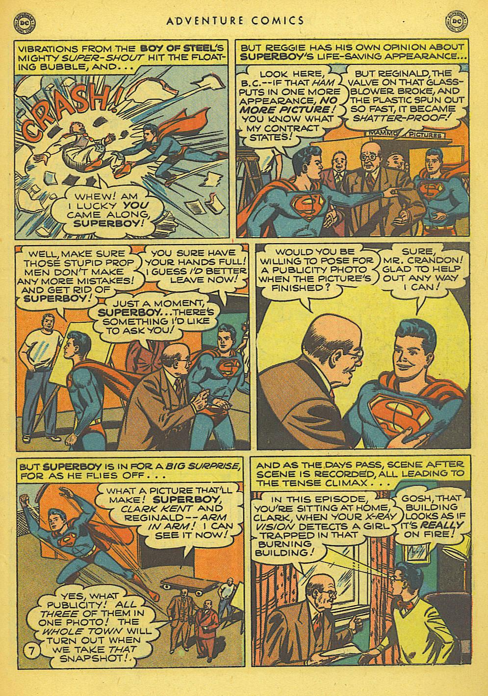 Read online Adventure Comics (1938) comic -  Issue #155 - 9
