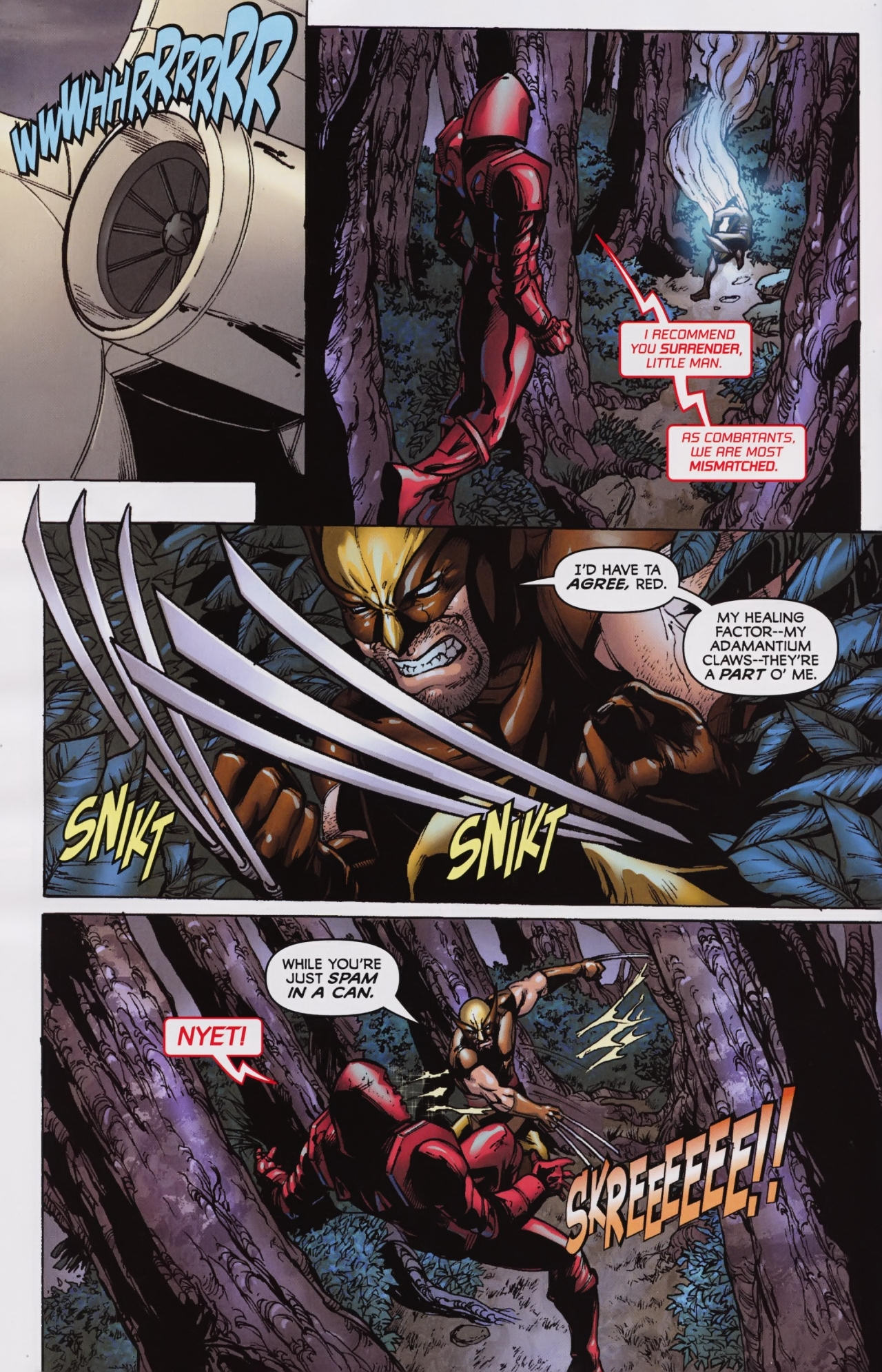 Read online Wolverine: First Class comic -  Issue #7 - 12