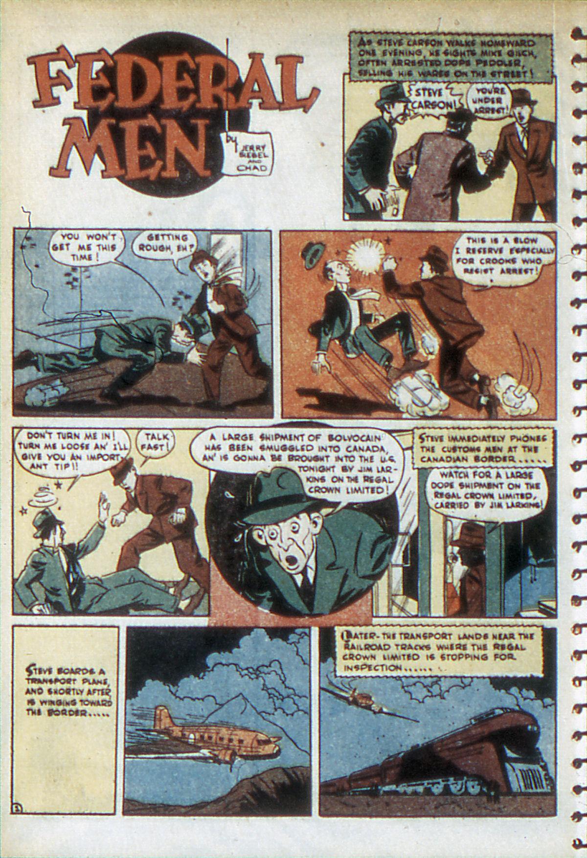 Read online Adventure Comics (1938) comic -  Issue #52 - 36