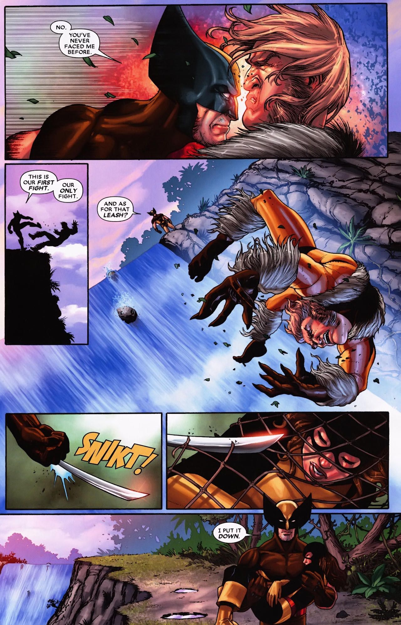 Read online Wolverine: First Class comic -  Issue #9 - 20