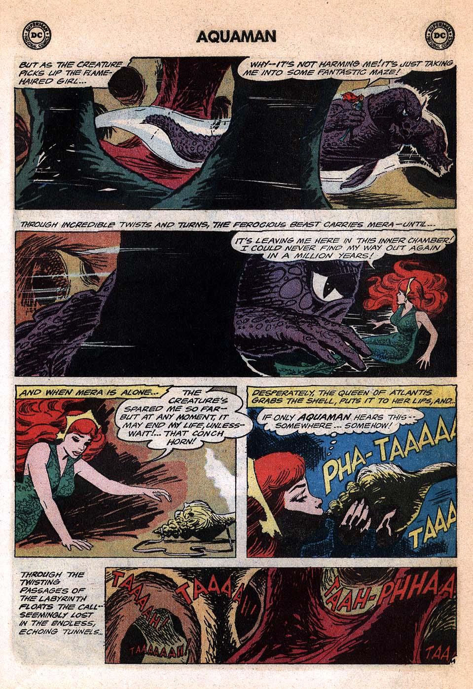Read online Aquaman (1962) comic -  Issue #20 - 19