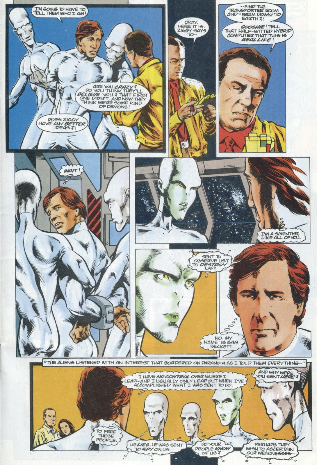 Read online Quantum Leap comic -  Issue #13 - 20