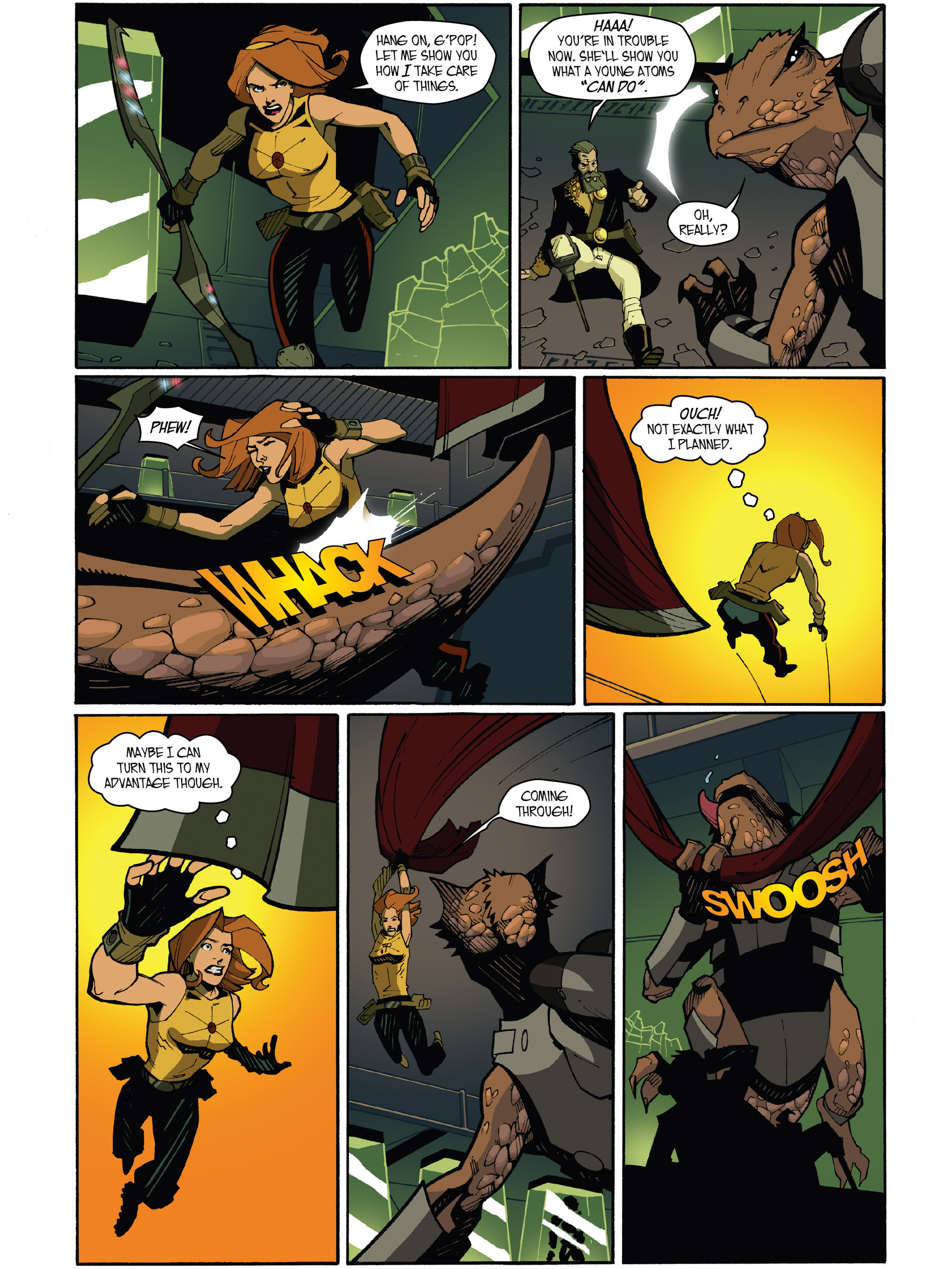 Read online Amber Atoms comic -  Issue #5 - 22