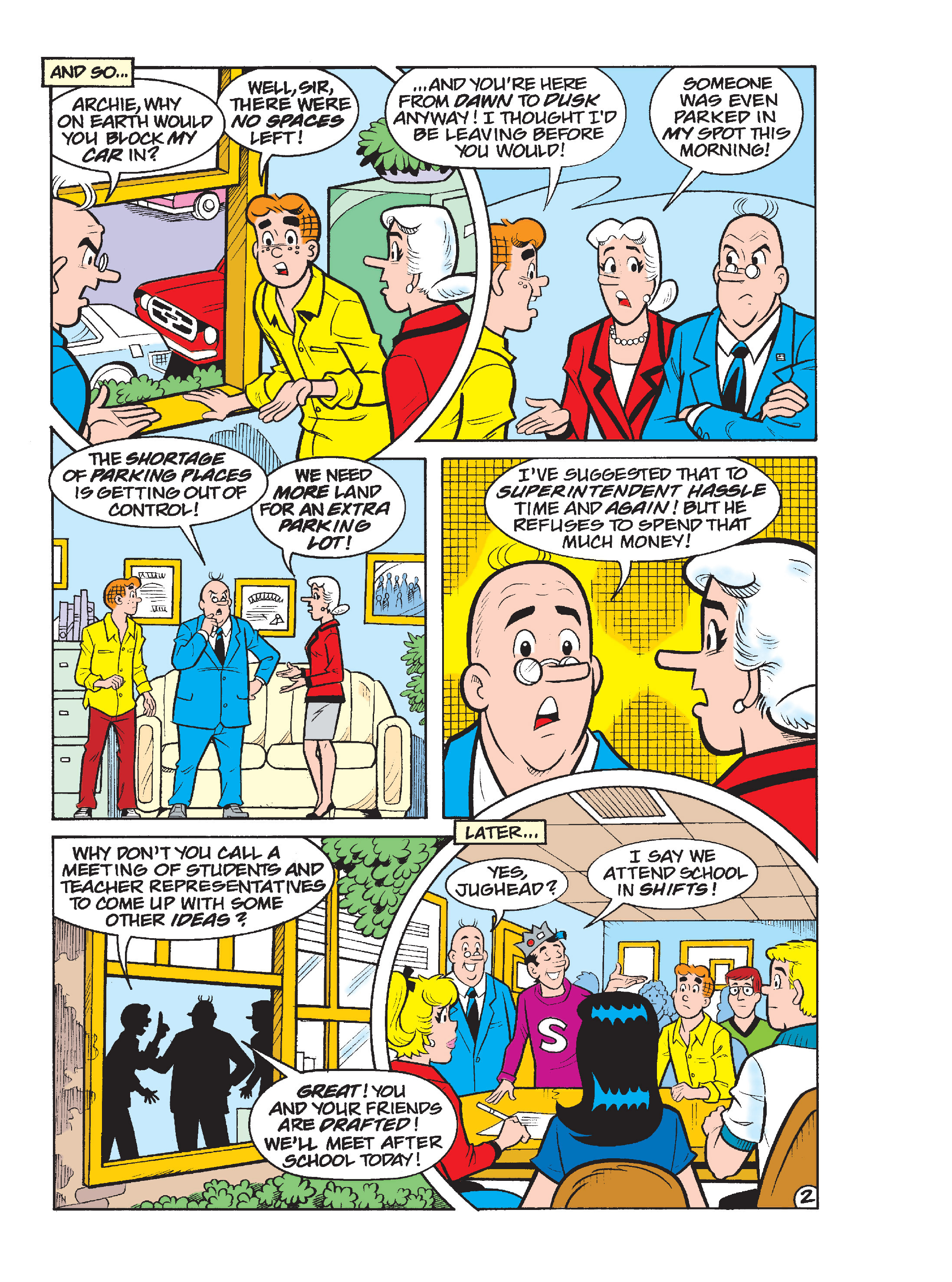 Read online Archie's Funhouse Double Digest comic -  Issue #17 - 62