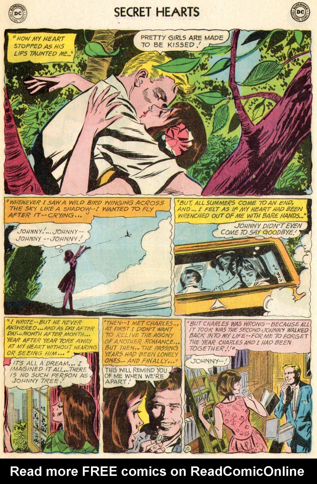 Read online Secret Hearts comic -  Issue #103 - 28