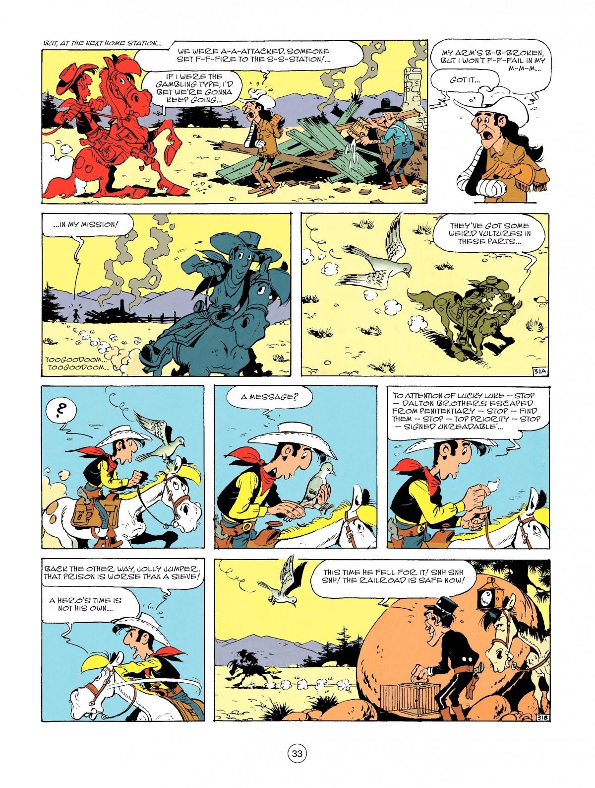 Read online A Lucky Luke Adventure comic -  Issue #46 - 33