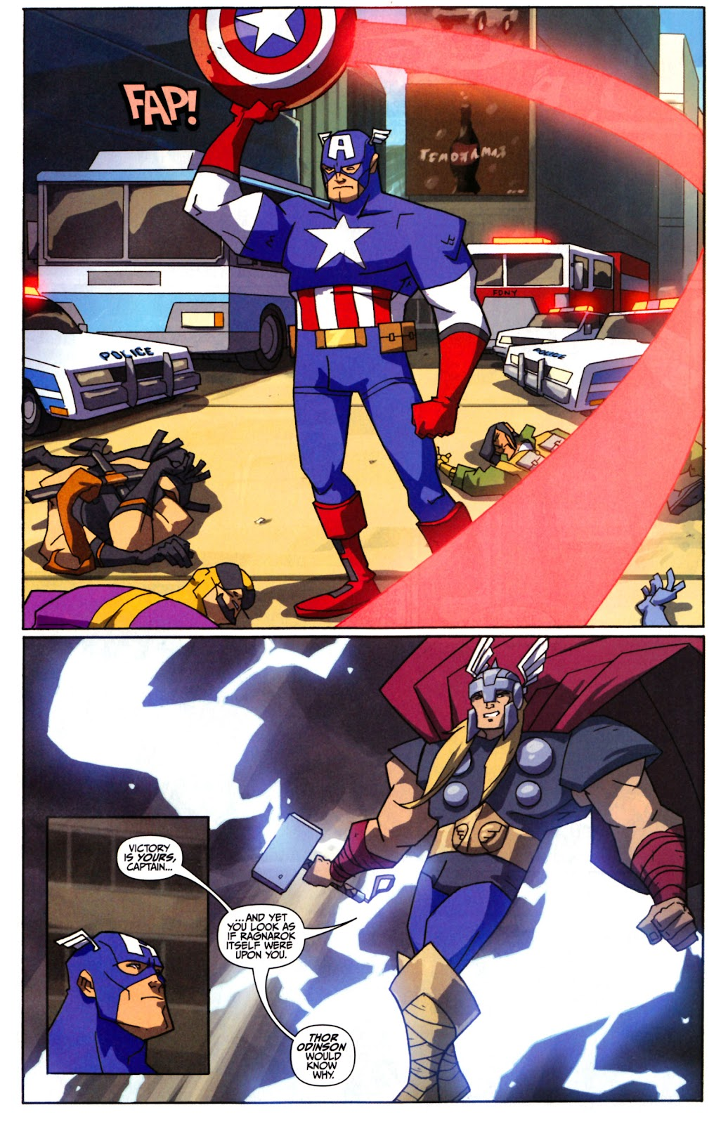 Avengers: Earth's Mightiest Heroes (2011) Issue #1 #1 - English 7