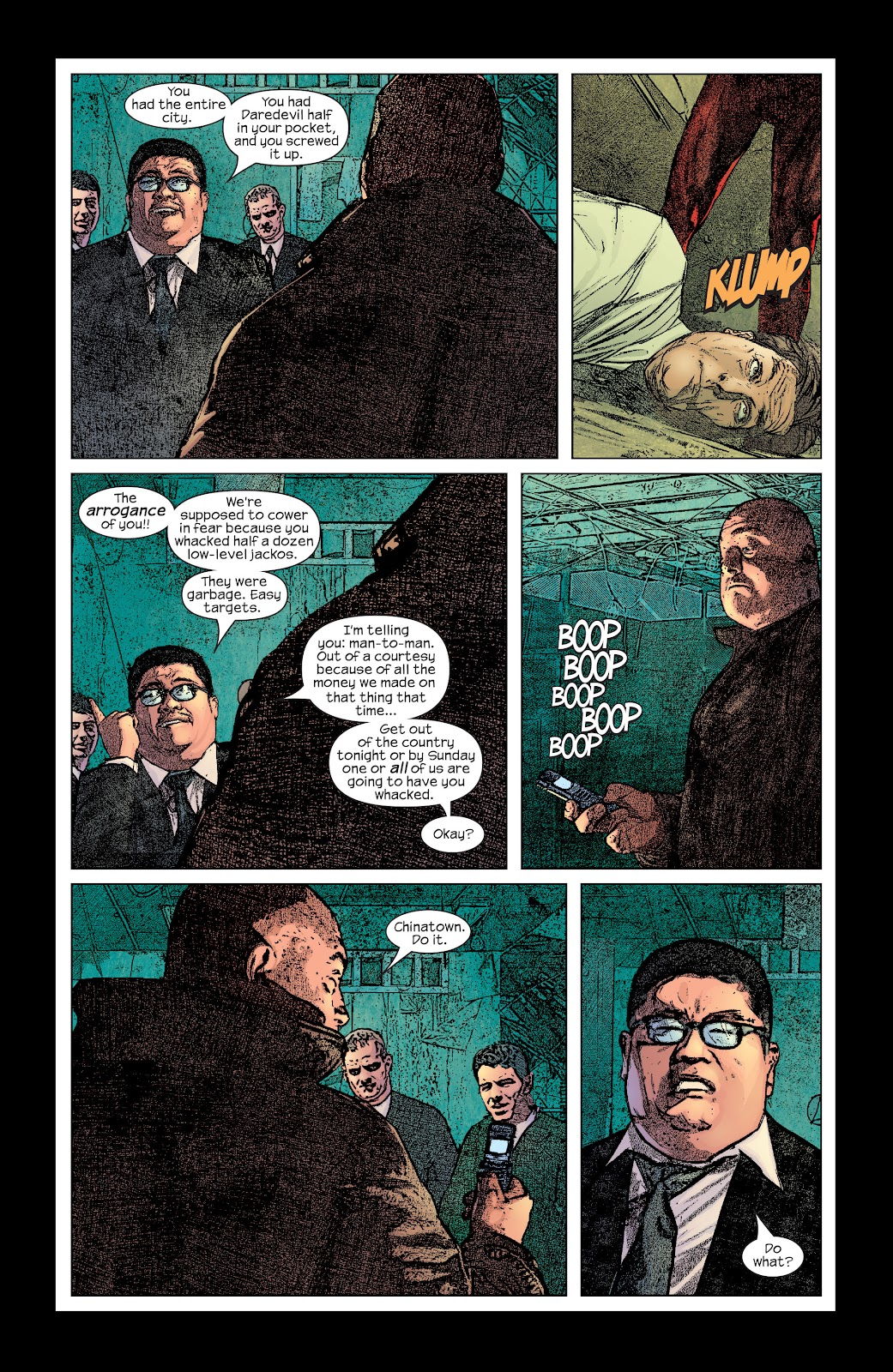 Read online Daredevil (1998) comic -  Issue # _Ultimate_Collection TPB 2 (Part 3) - 12