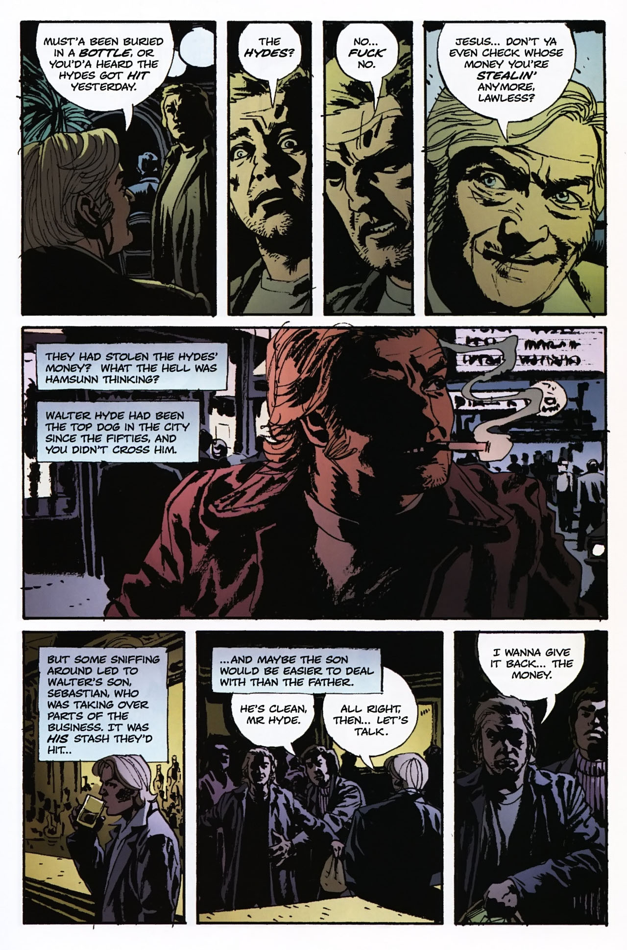 Read online Criminal (2008) comic -  Issue #2 - 24