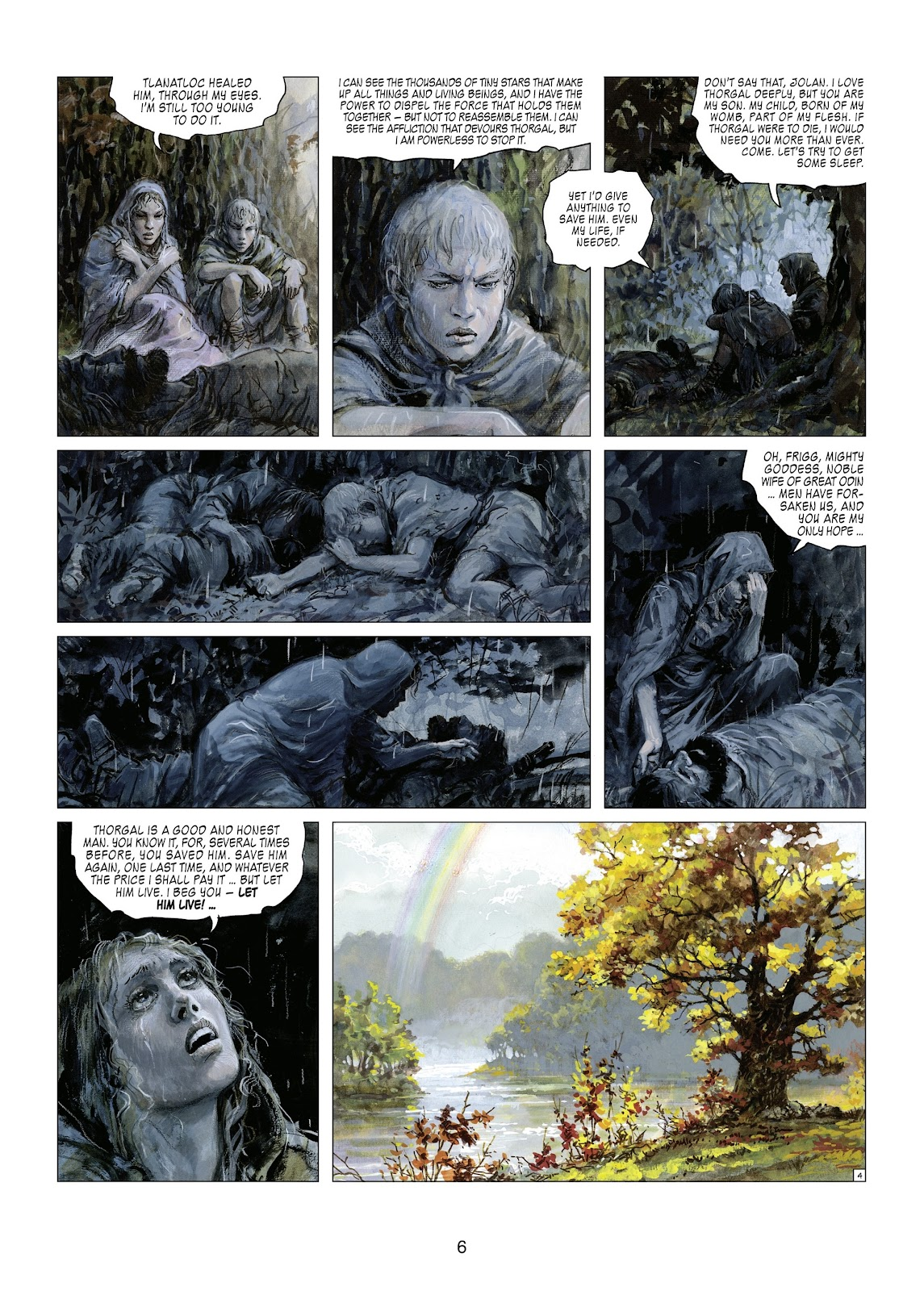 Read online Thorgal comic -  Issue #21 - 8