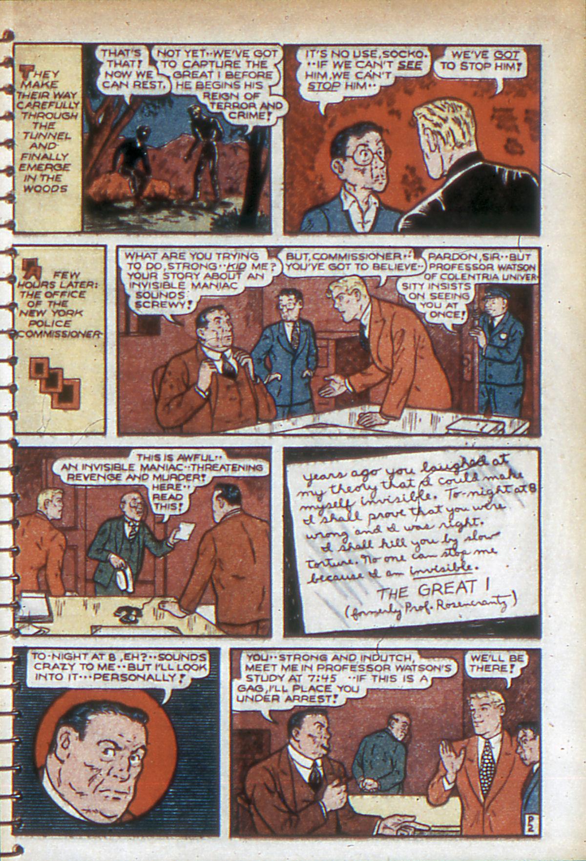 Read online Adventure Comics (1938) comic -  Issue #53 - 50