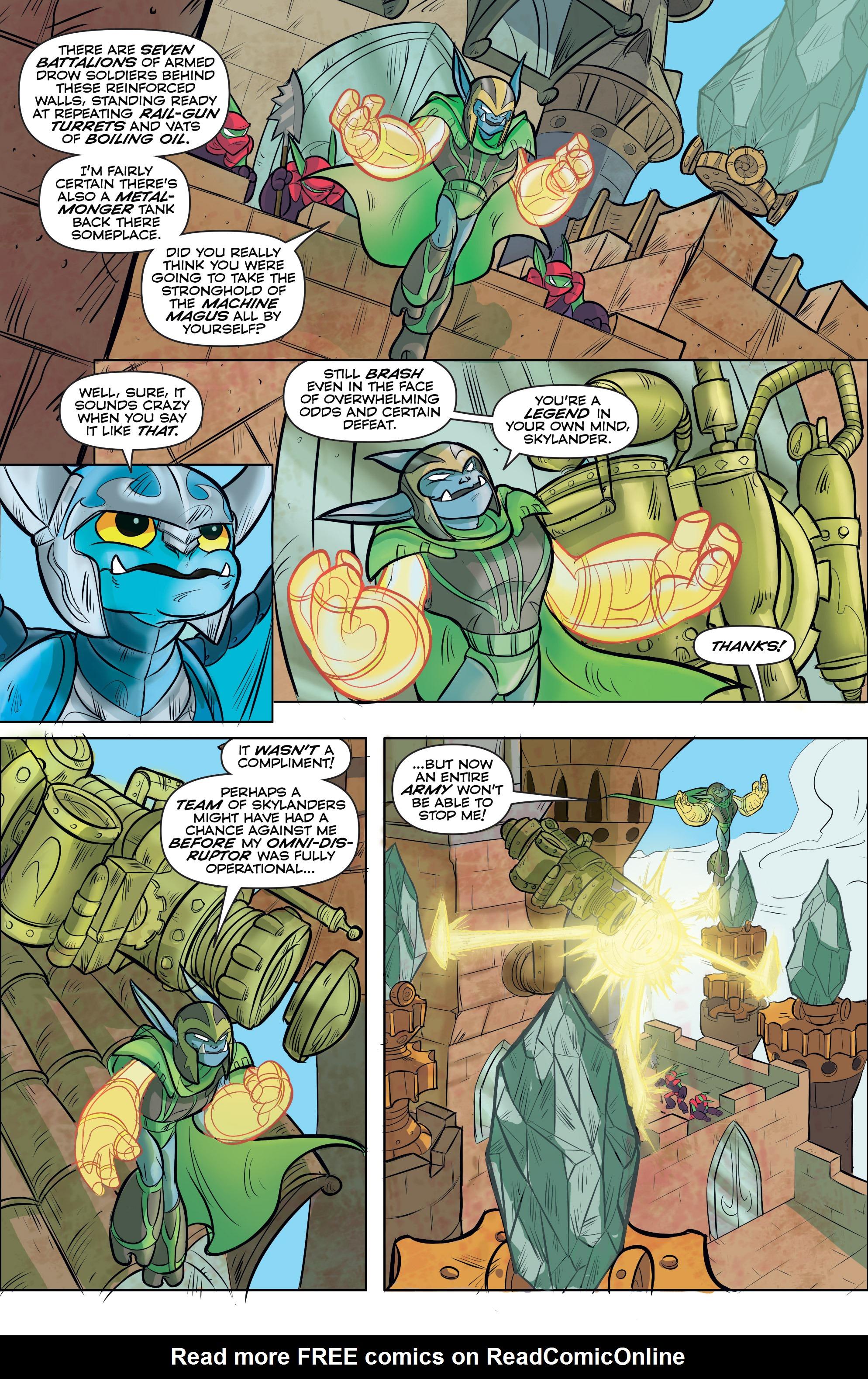 Read online Skylanders comic -  Issue #5 - 12