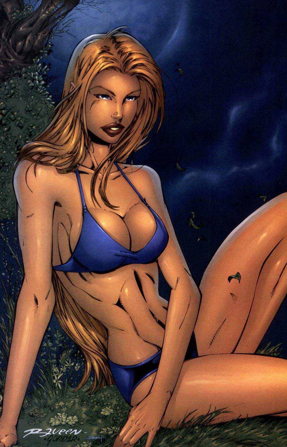 Read online Darkchylde Summer Swimsuit Spectacular comic -  Issue # Full - 3
