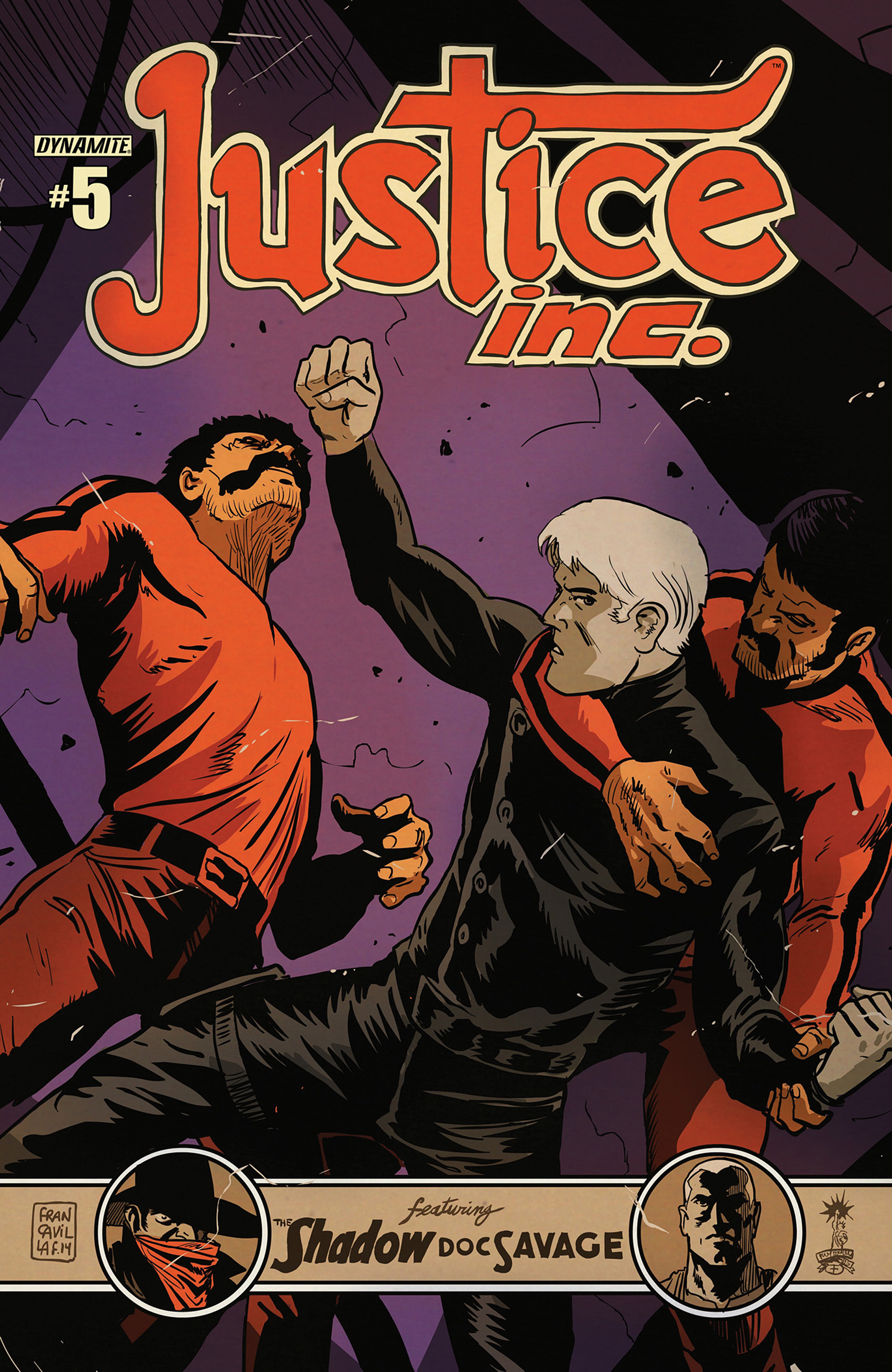 Read online Justice, Inc. comic -  Issue #5 - 2
