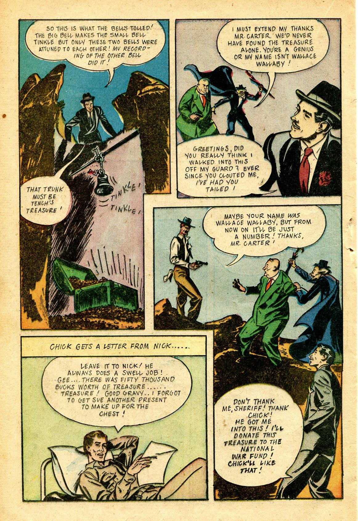 Read online Shadow Comics comic -  Issue #51 - 33