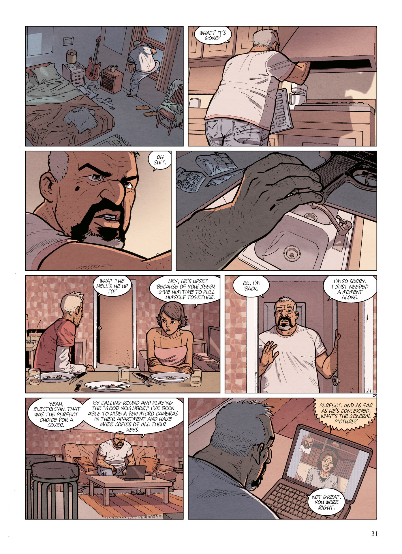 Read online Alter Ego comic -  Issue #6 - 33