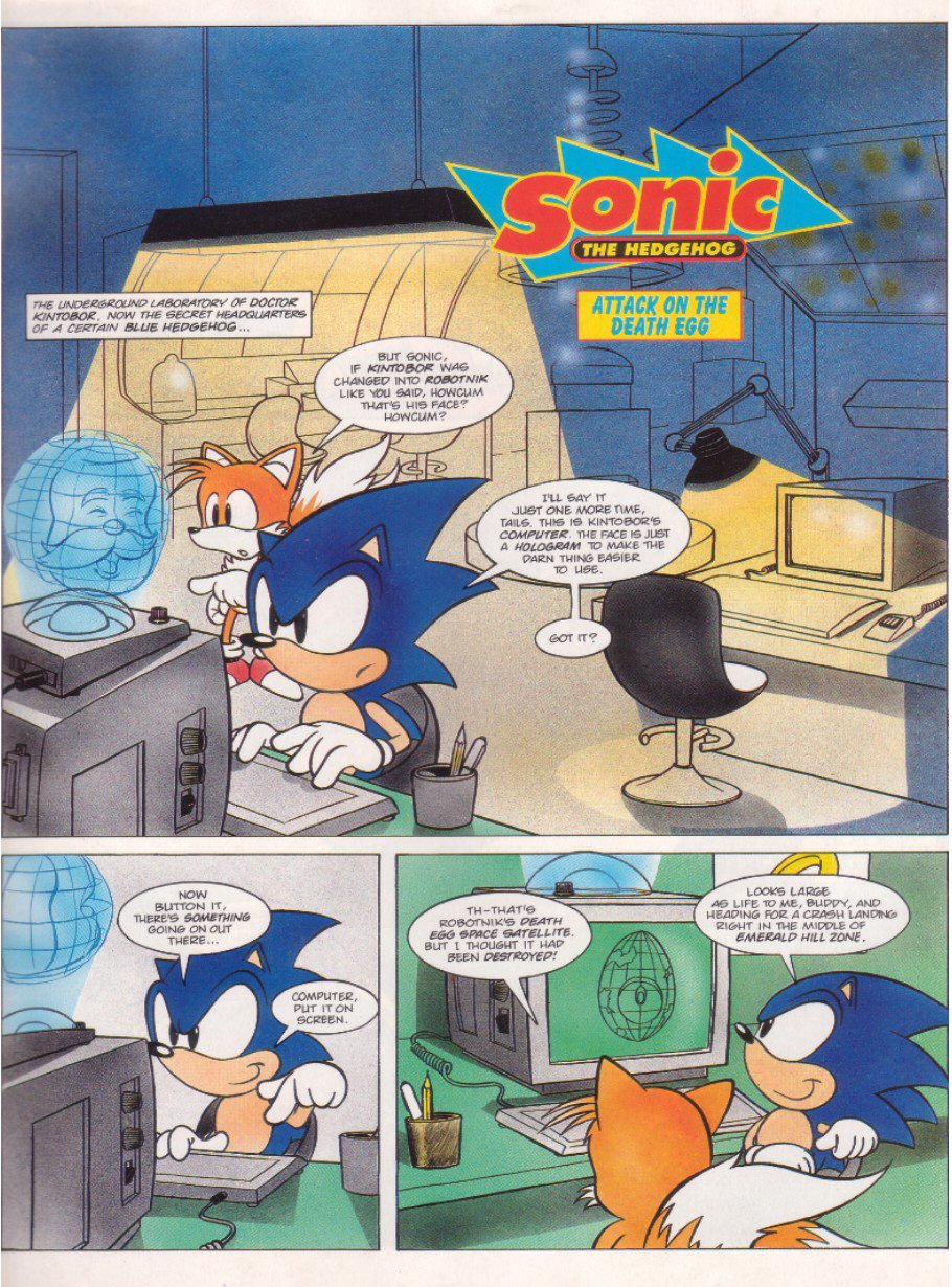 Read online Sonic the Comic comic -  Issue #6 - 3