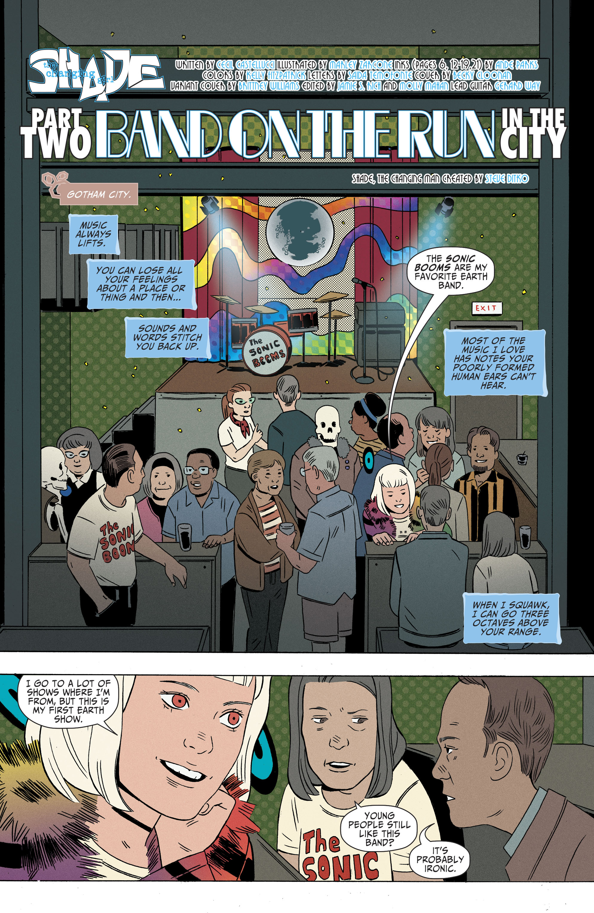 Read online Shade, the Changing Girl comic -  Issue #9 - 4