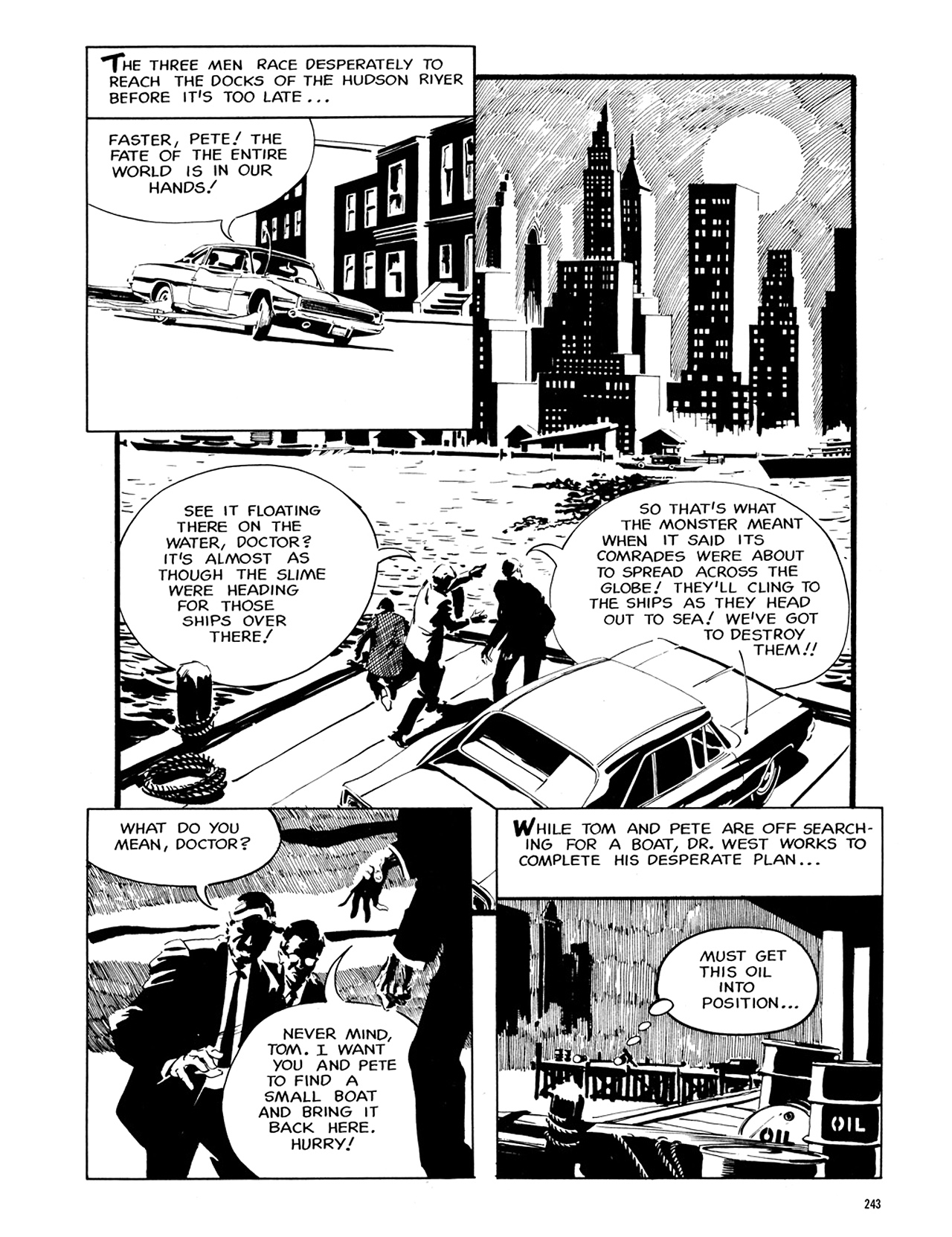 Read online Eerie Archives comic -  Issue # TPB 6 - 242