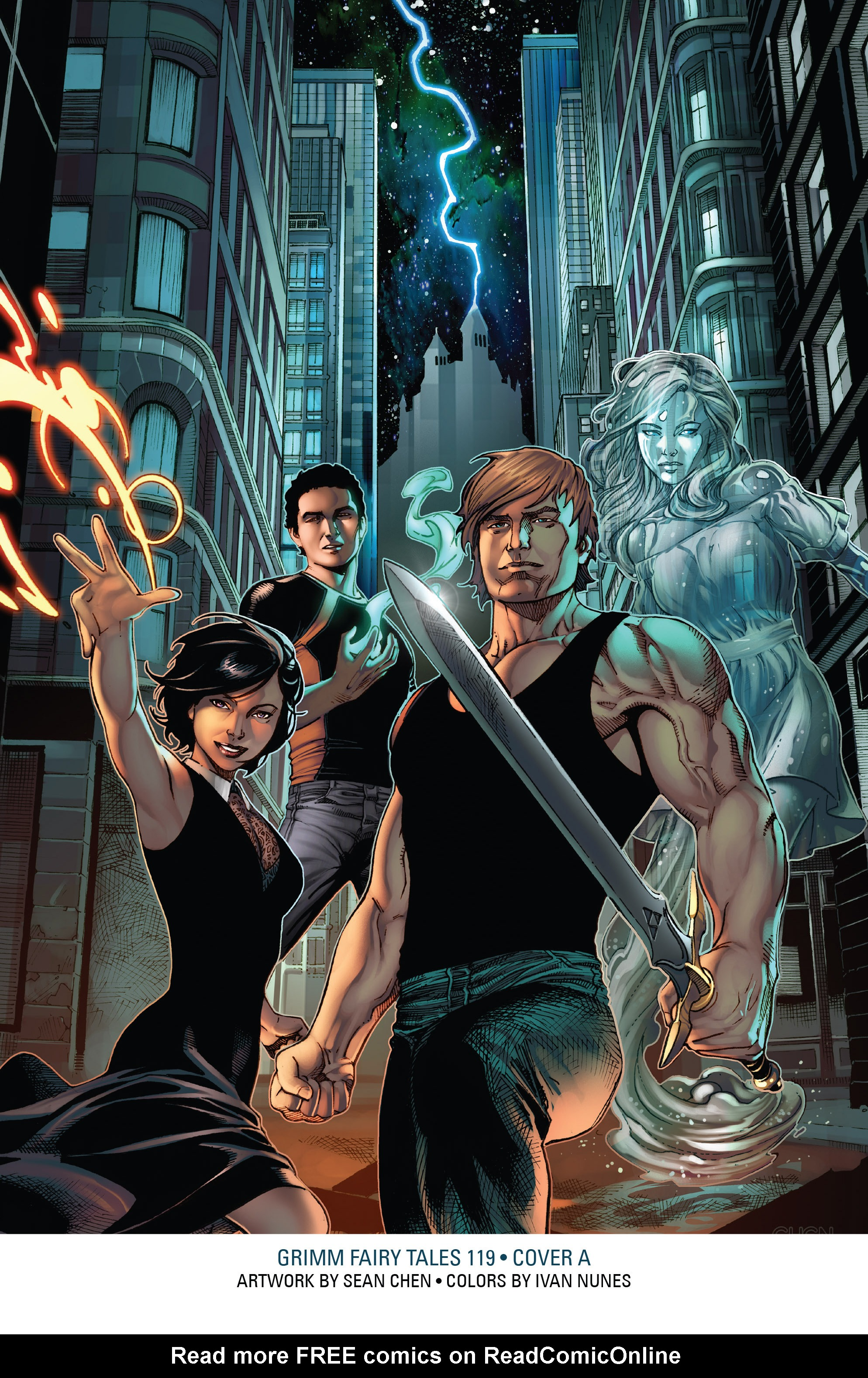 Read online Grimm Fairy Tales: Arcane Acre comic -  Issue # TPB 4 - 200