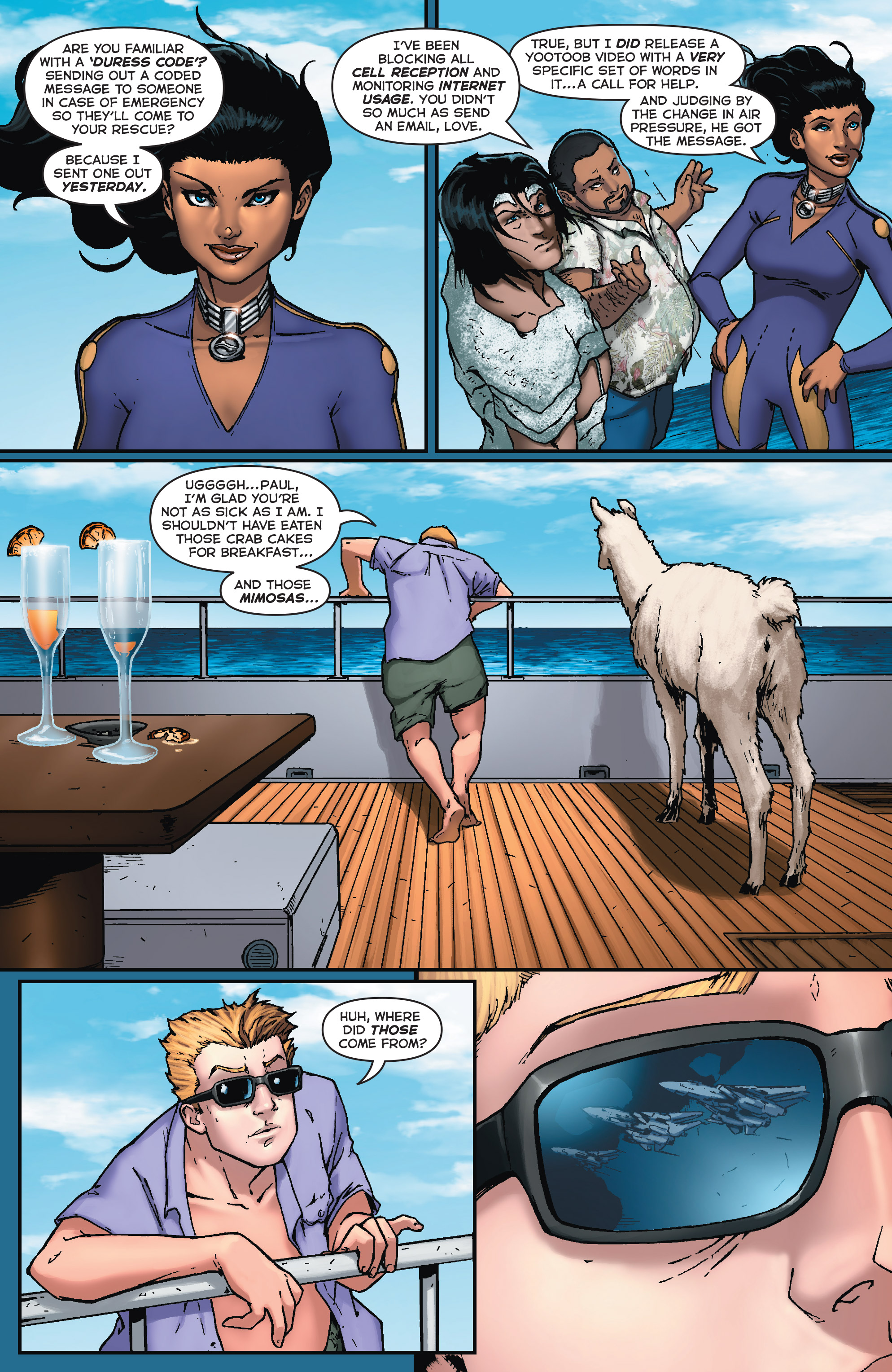 Read online Fathom (2017) comic -  Issue #5 - 17