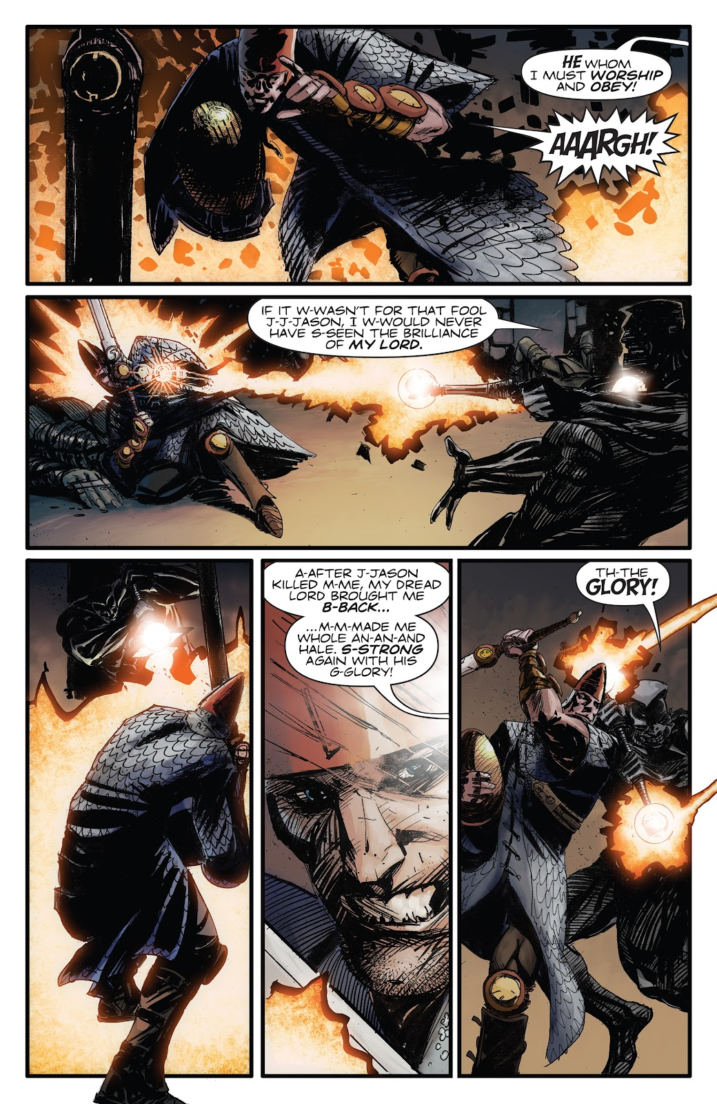 Read online Giantkillers One-Shot comic -  Issue # Full - 18