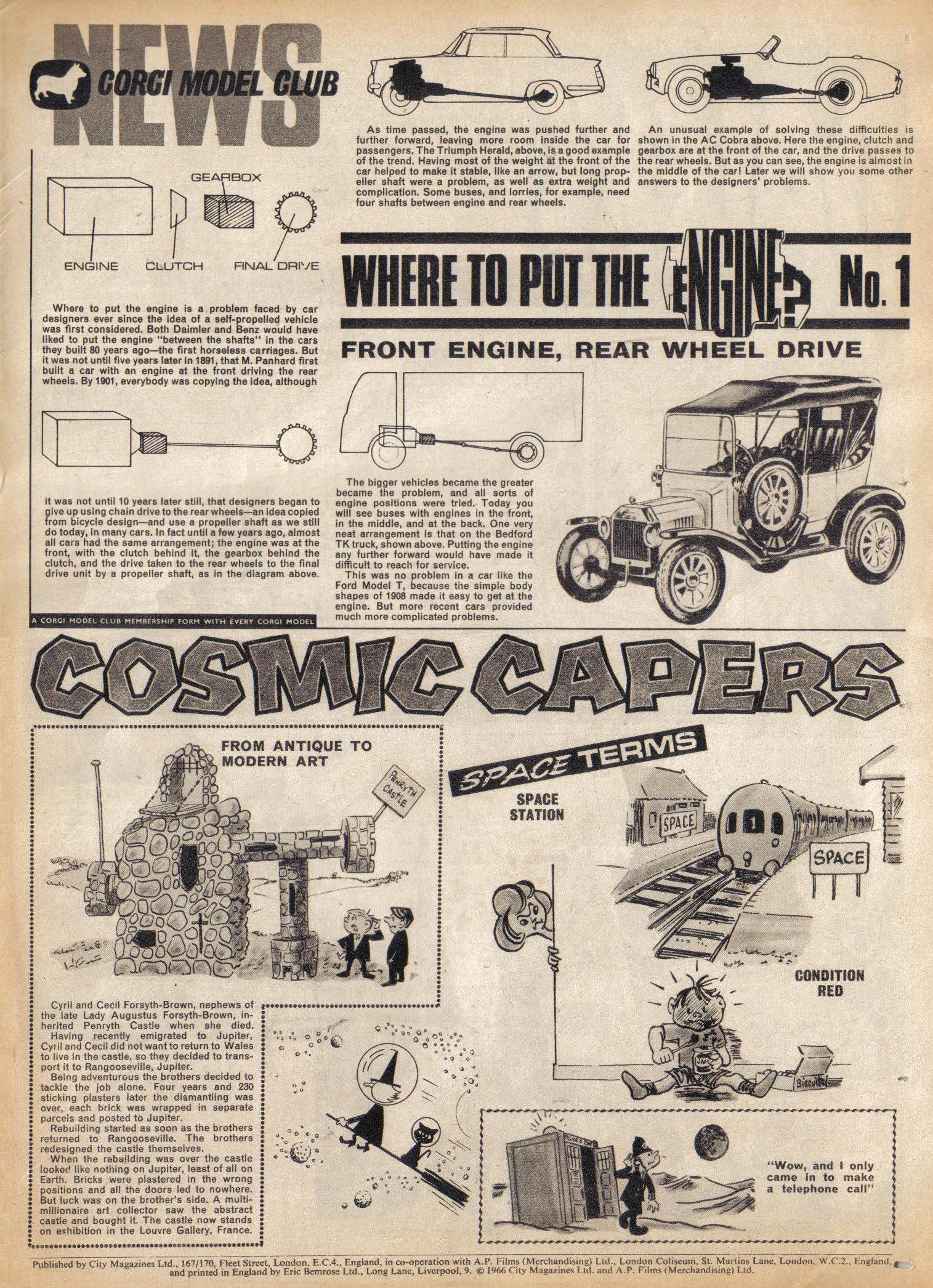 Read online TV Century 21 (TV 21) comic -  Issue #58 - 20