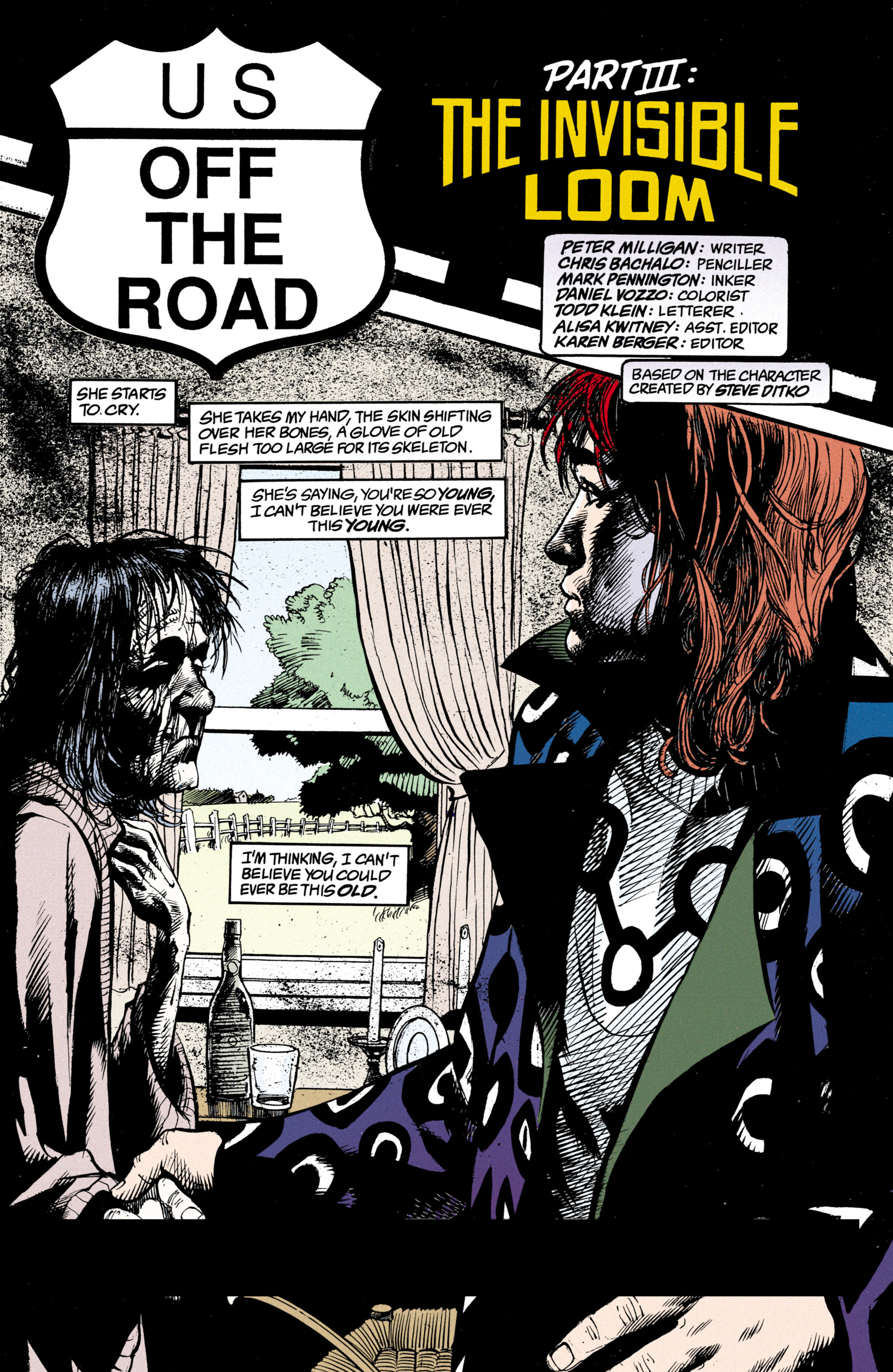 Read online Shade, the Changing Man comic -  Issue #23 - 2