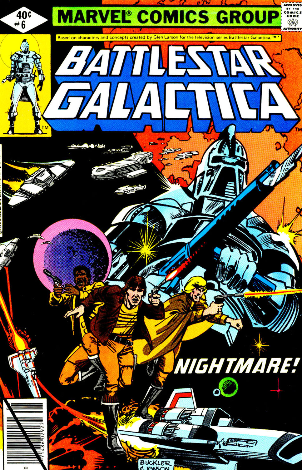Battlestar Galactica 6 Page 1
