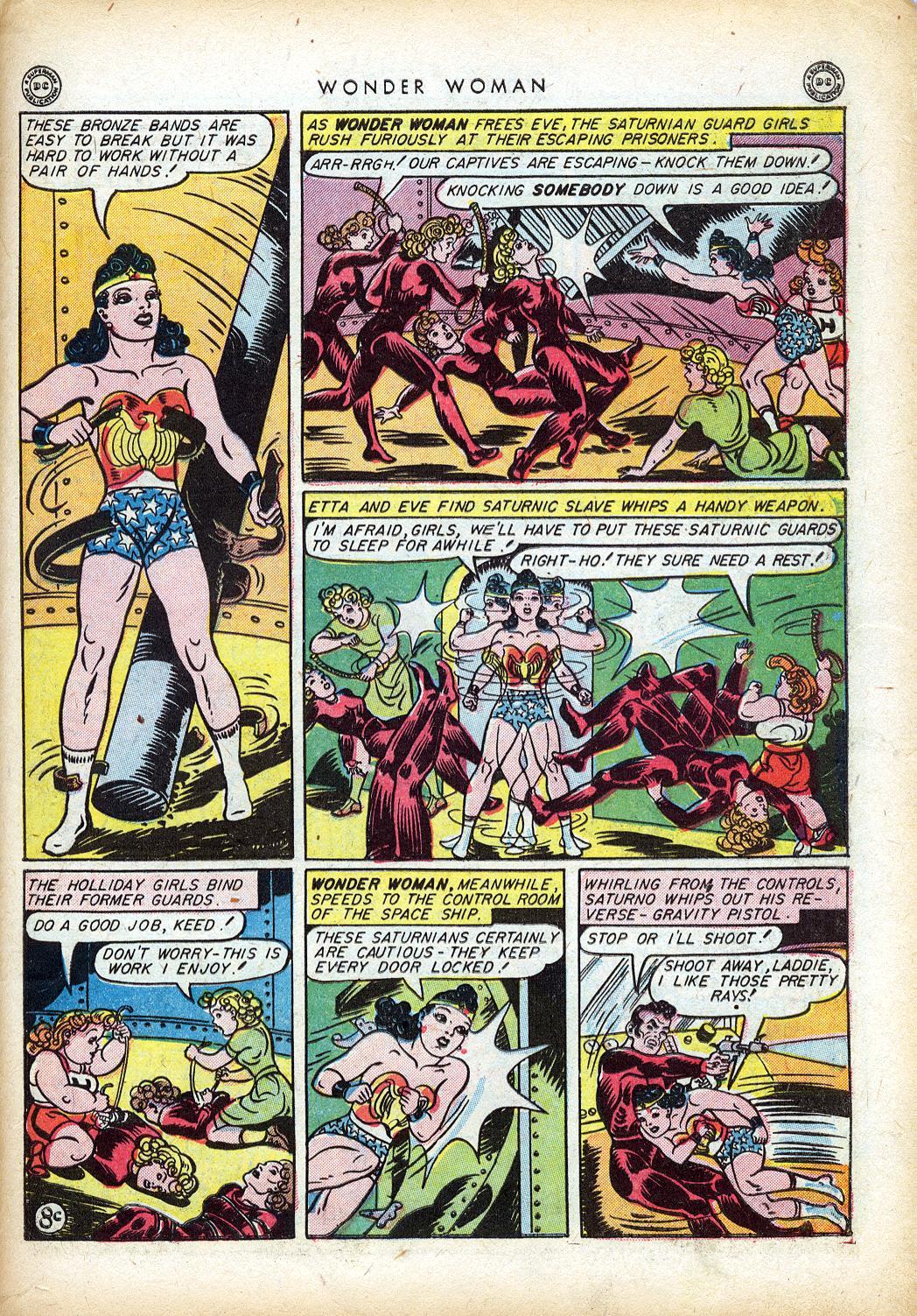 Read online Wonder Woman (1942) comic -  Issue #10 - 46
