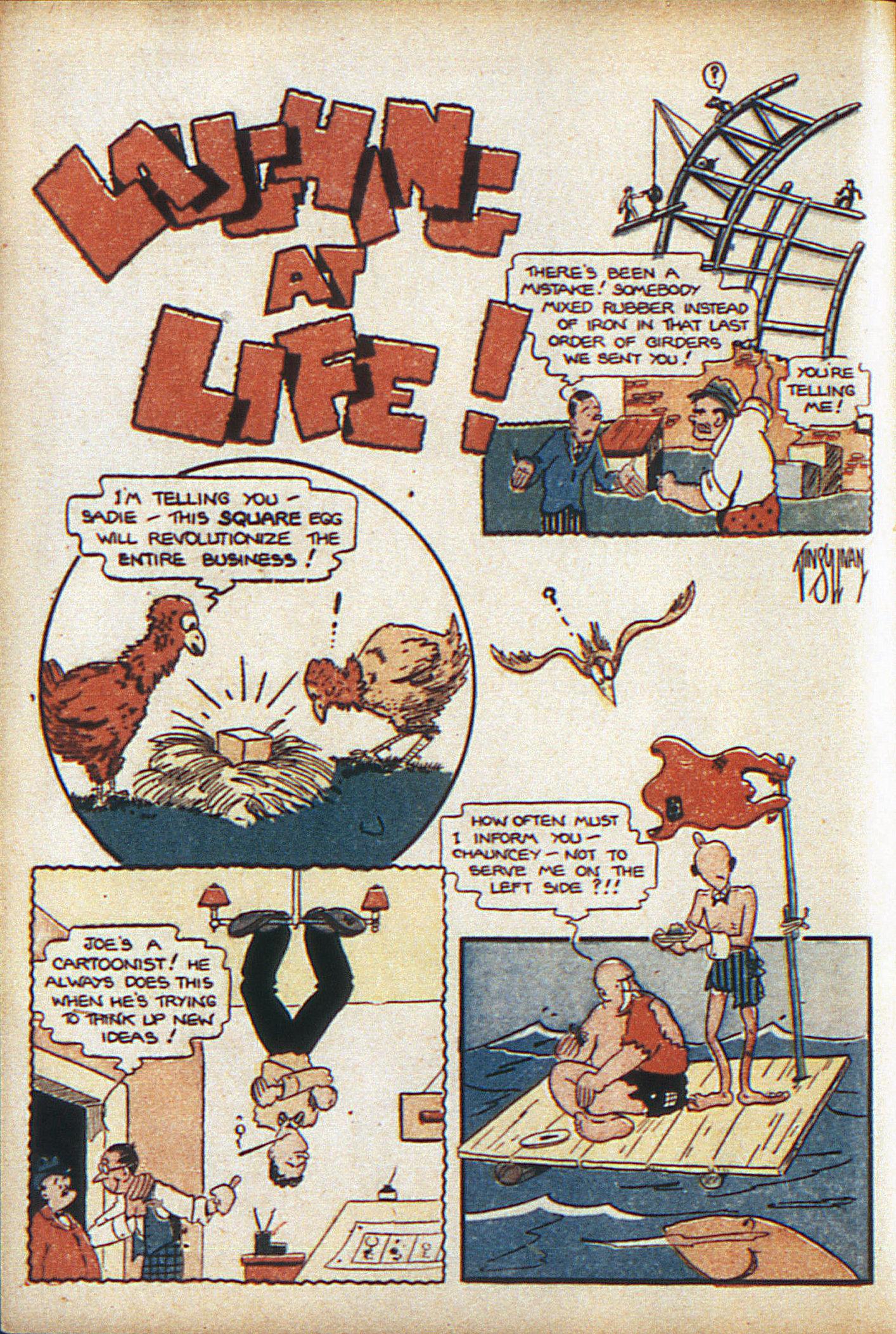 Read online Adventure Comics (1938) comic -  Issue #10 - 35