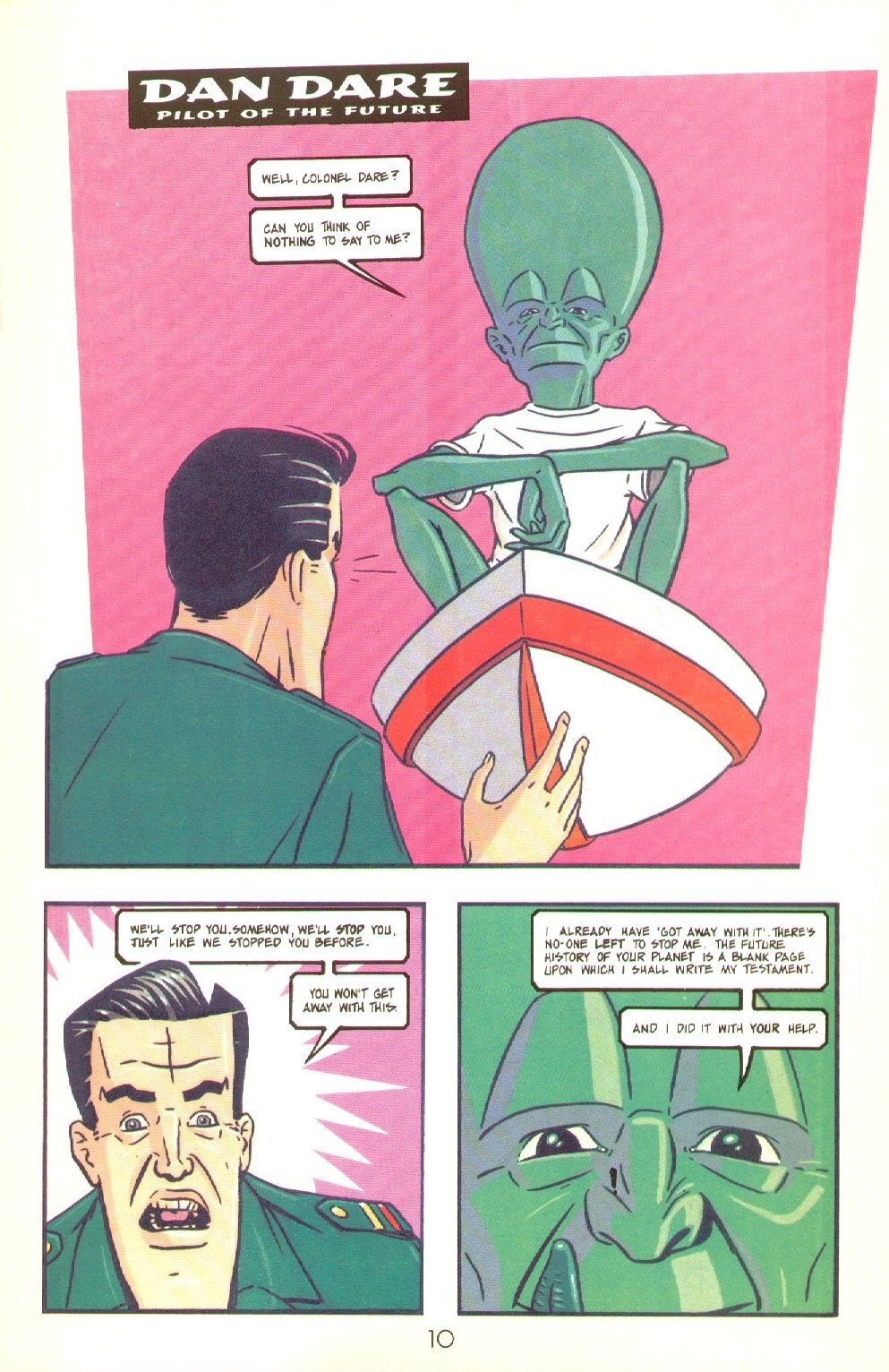 Read online Dare comic -  Issue #4 - 12