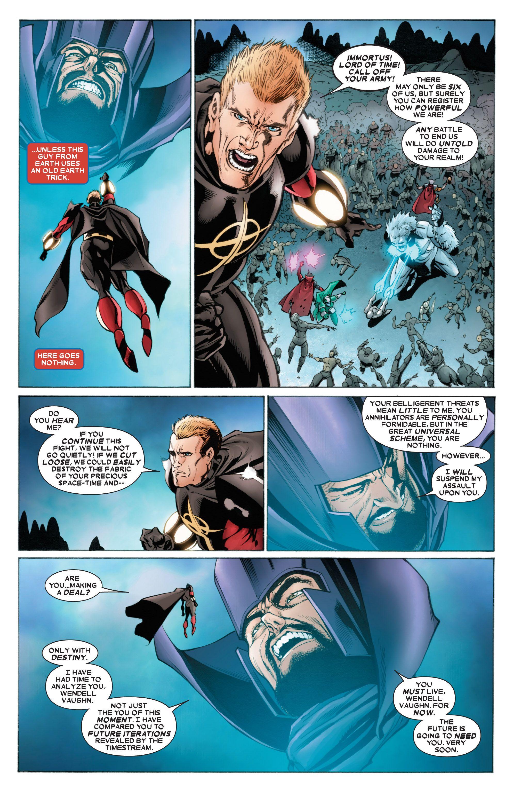 Read online Annihilators comic -  Issue #4 - 9