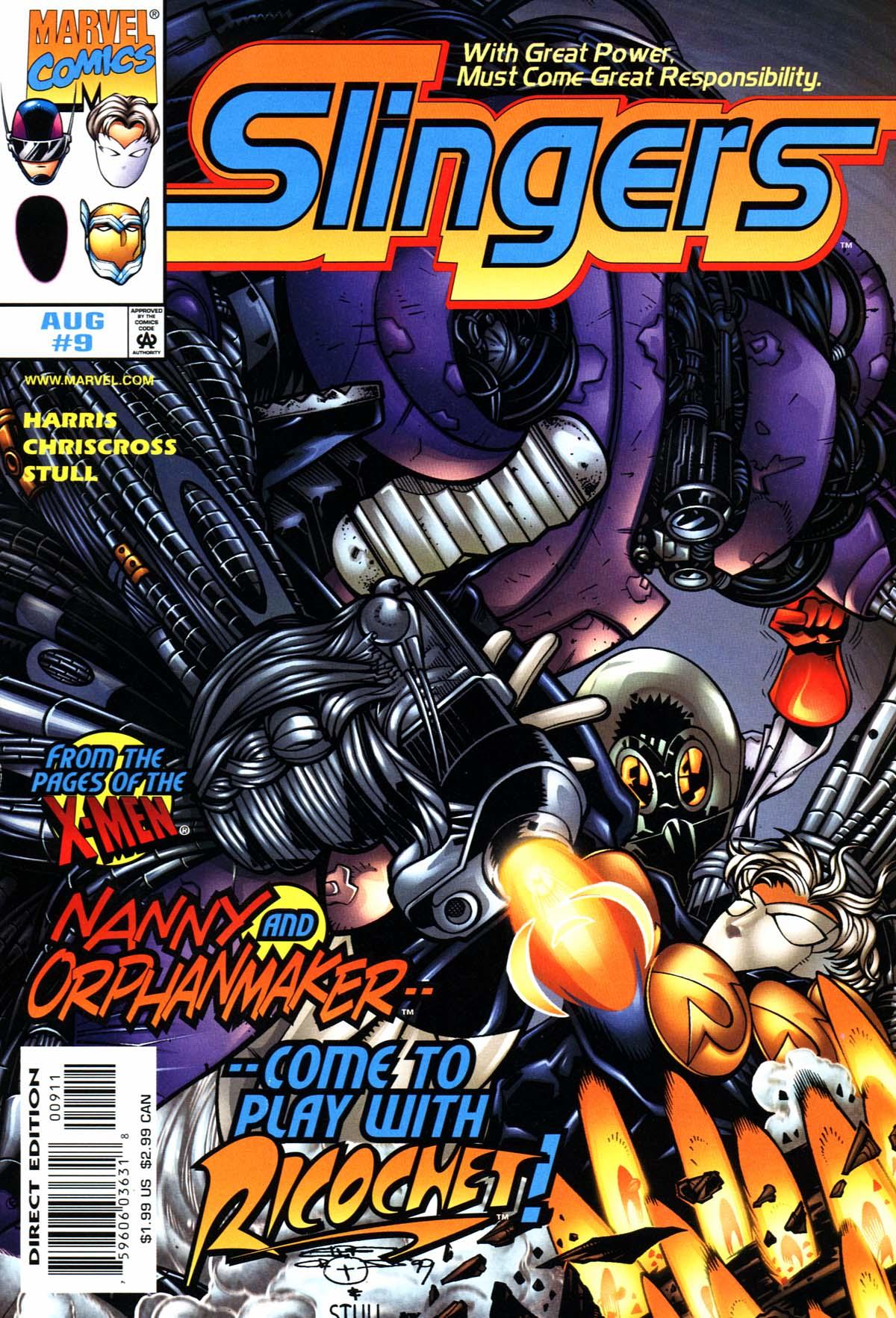 Read online Slingers comic -  Issue #9 - 1