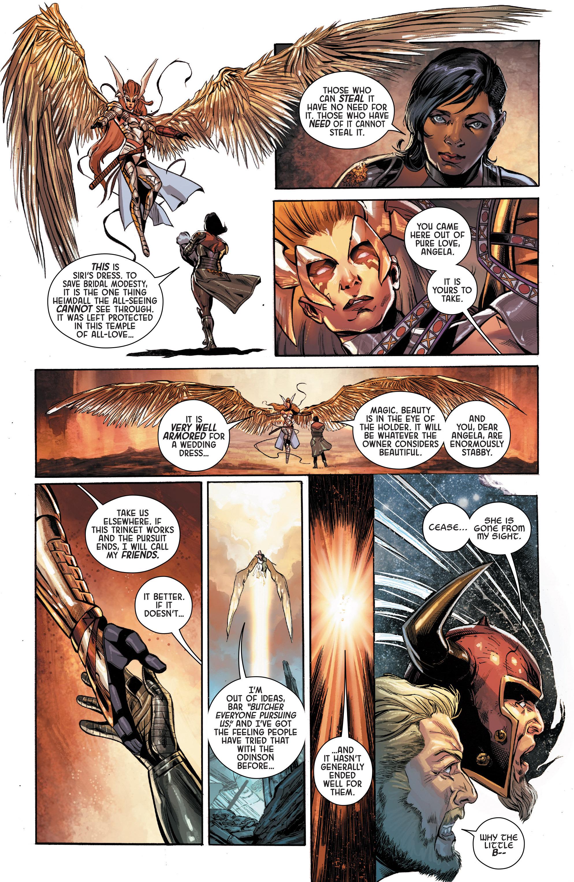 Read online Angela: Asgard's Assassin comic -  Issue #3 - 12