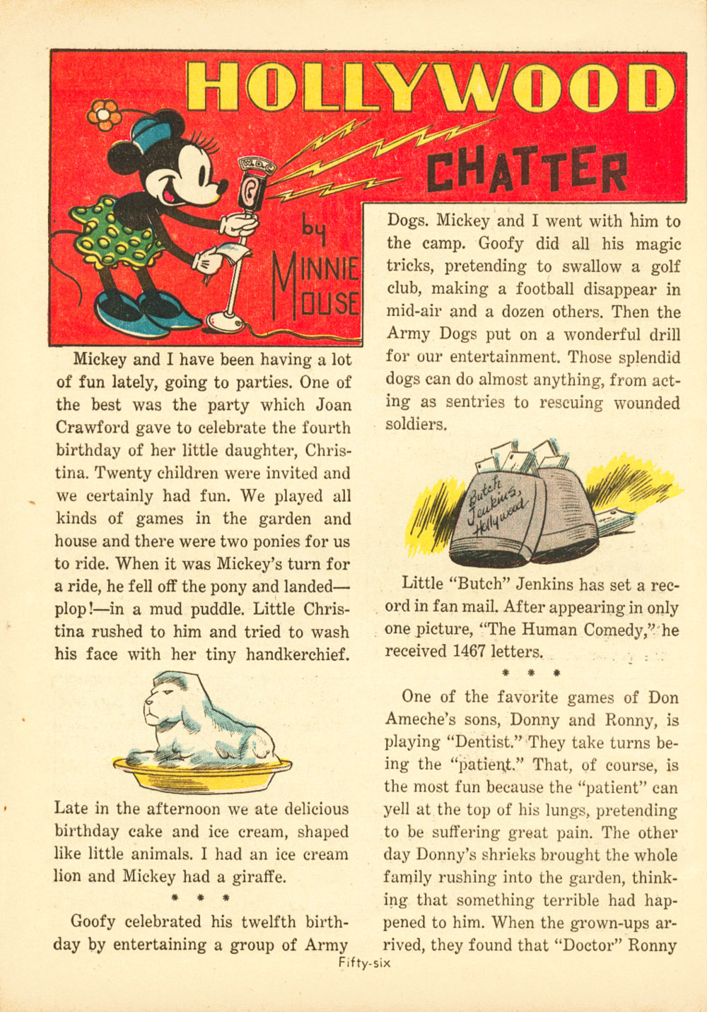 Walt Disney's Comics and Stories issue 38 - Page 58
