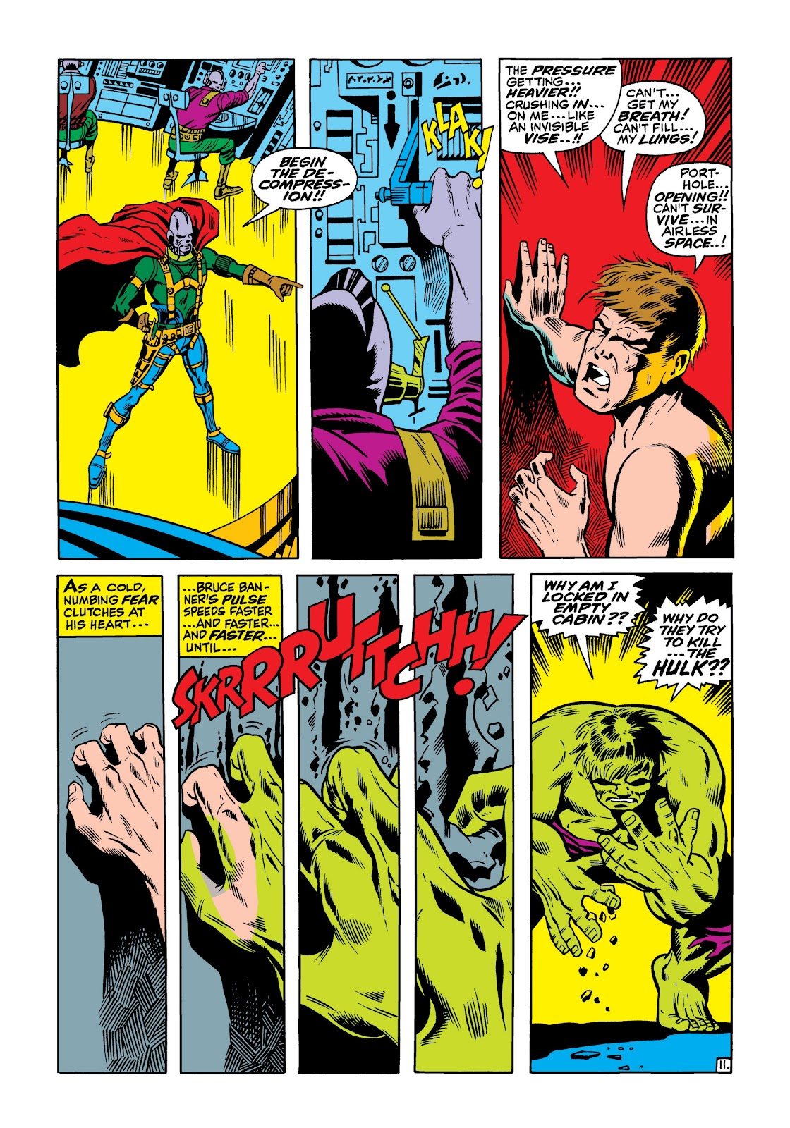 Read online Marvel Masterworks: The Incredible Hulk comic -  Issue # TPB 5 (Part 1) - 17