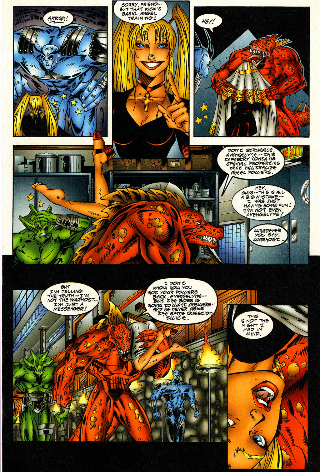 Read online Avengelyne (1996) comic -  Issue #6 - 22