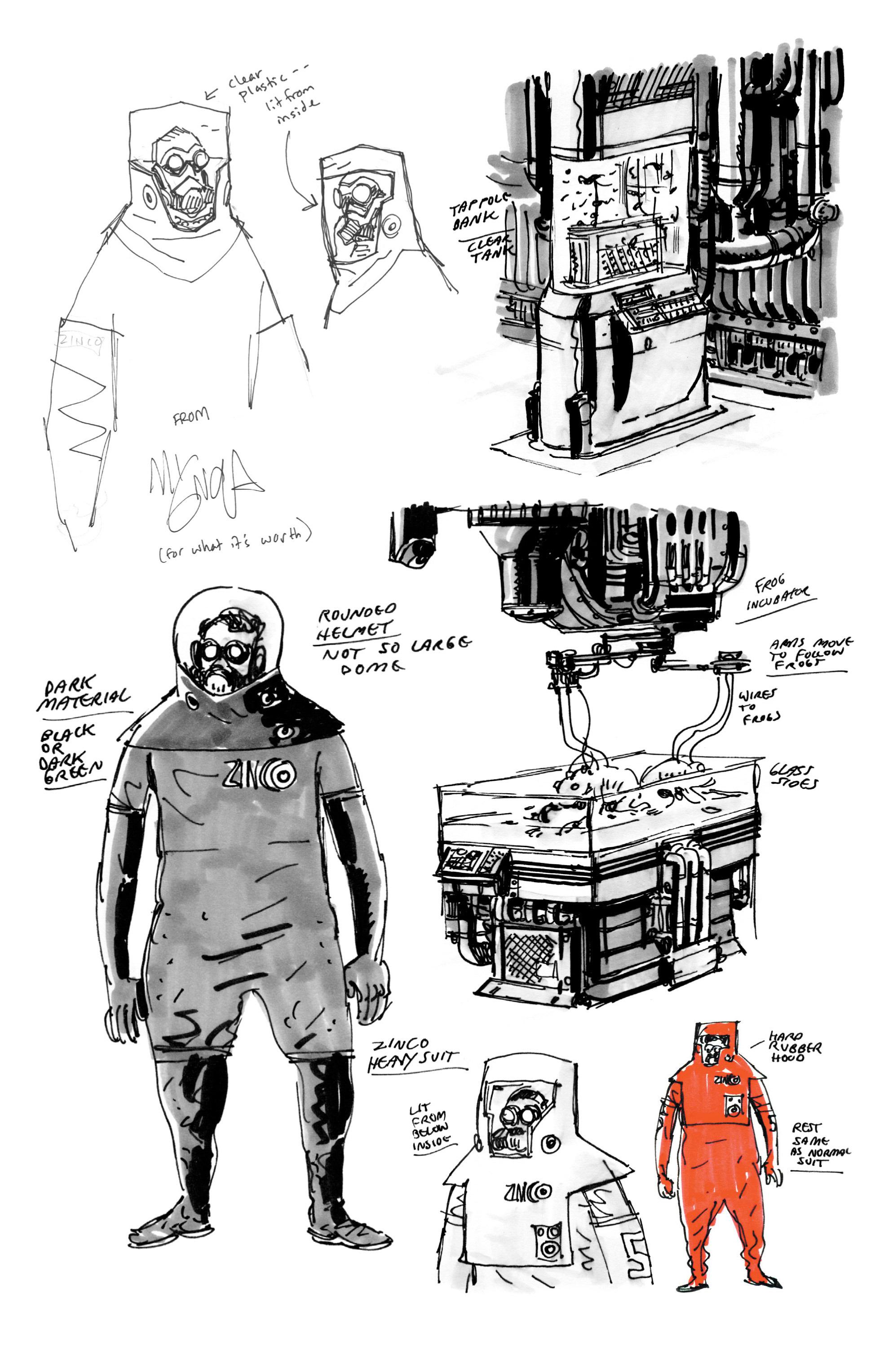 Read online B.P.R.D. (2003) comic -  Issue # TPB 5 - 161