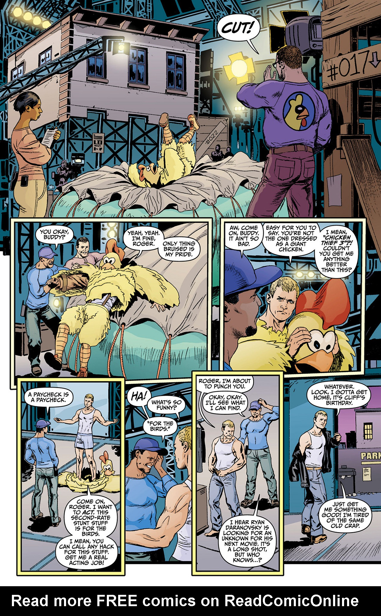 Read online Animal Man (2011) comic -  Issue #0 - 8