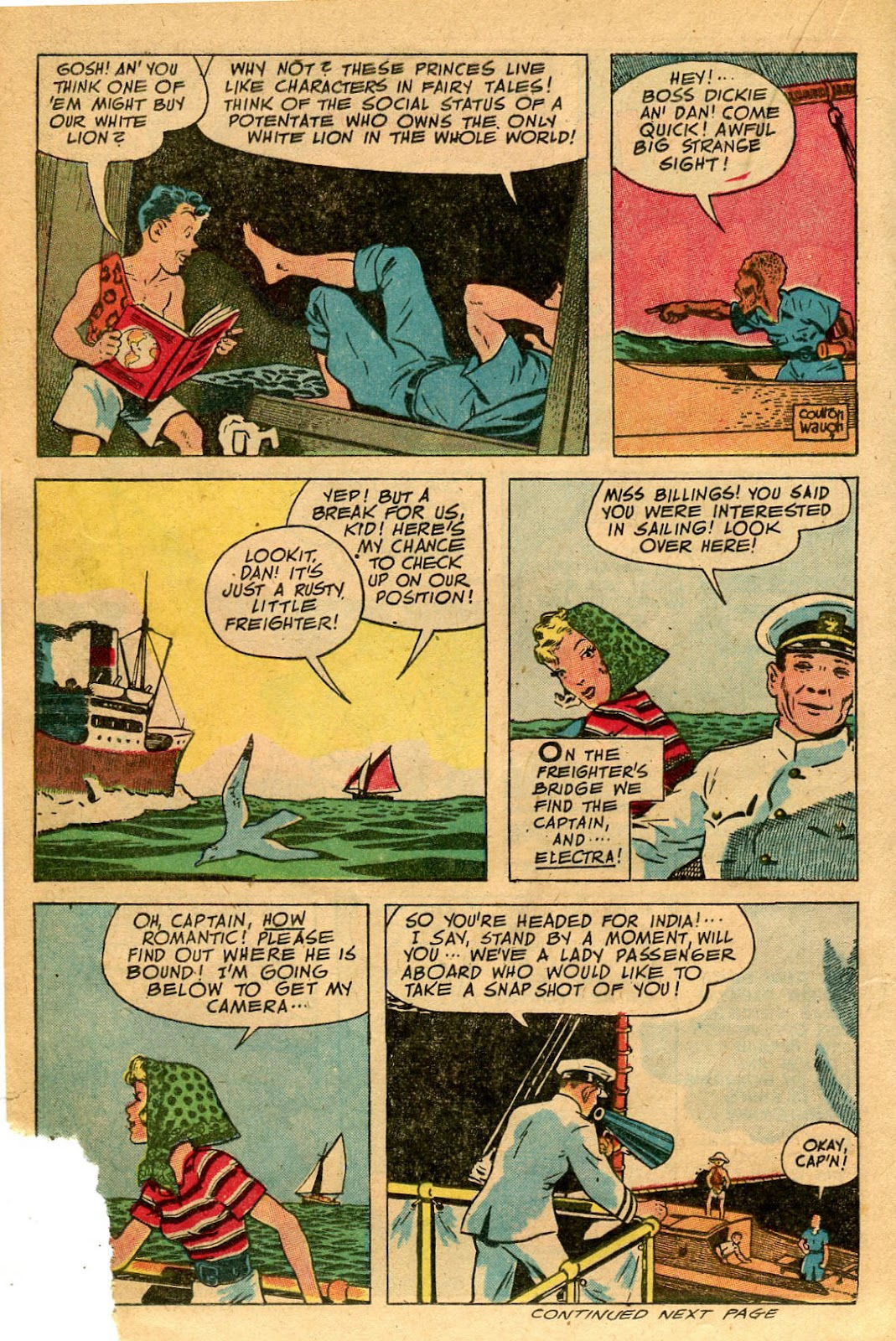 Read online Famous Funnies comic -  Issue #127 - 22