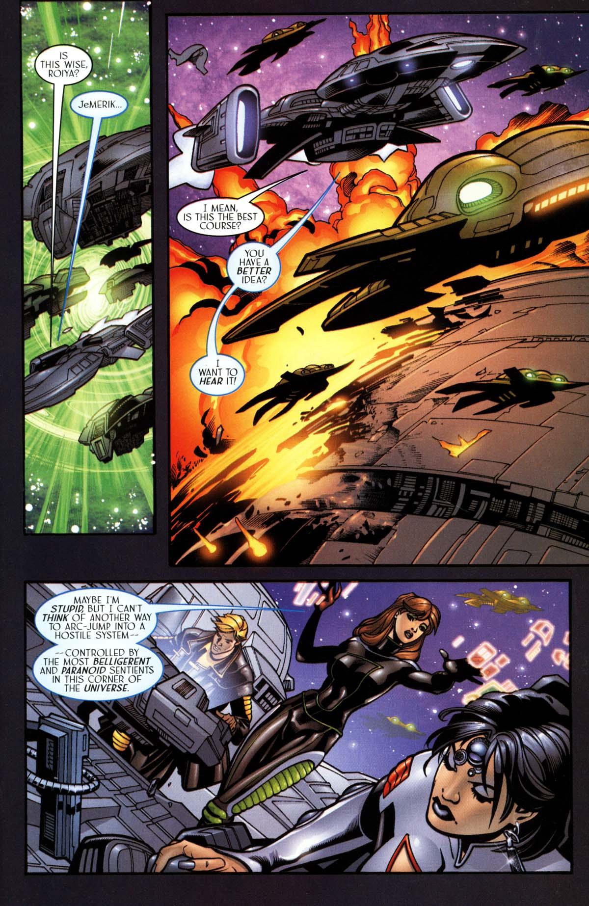 Read online Sigil (2000) comic -  Issue #26 - 21
