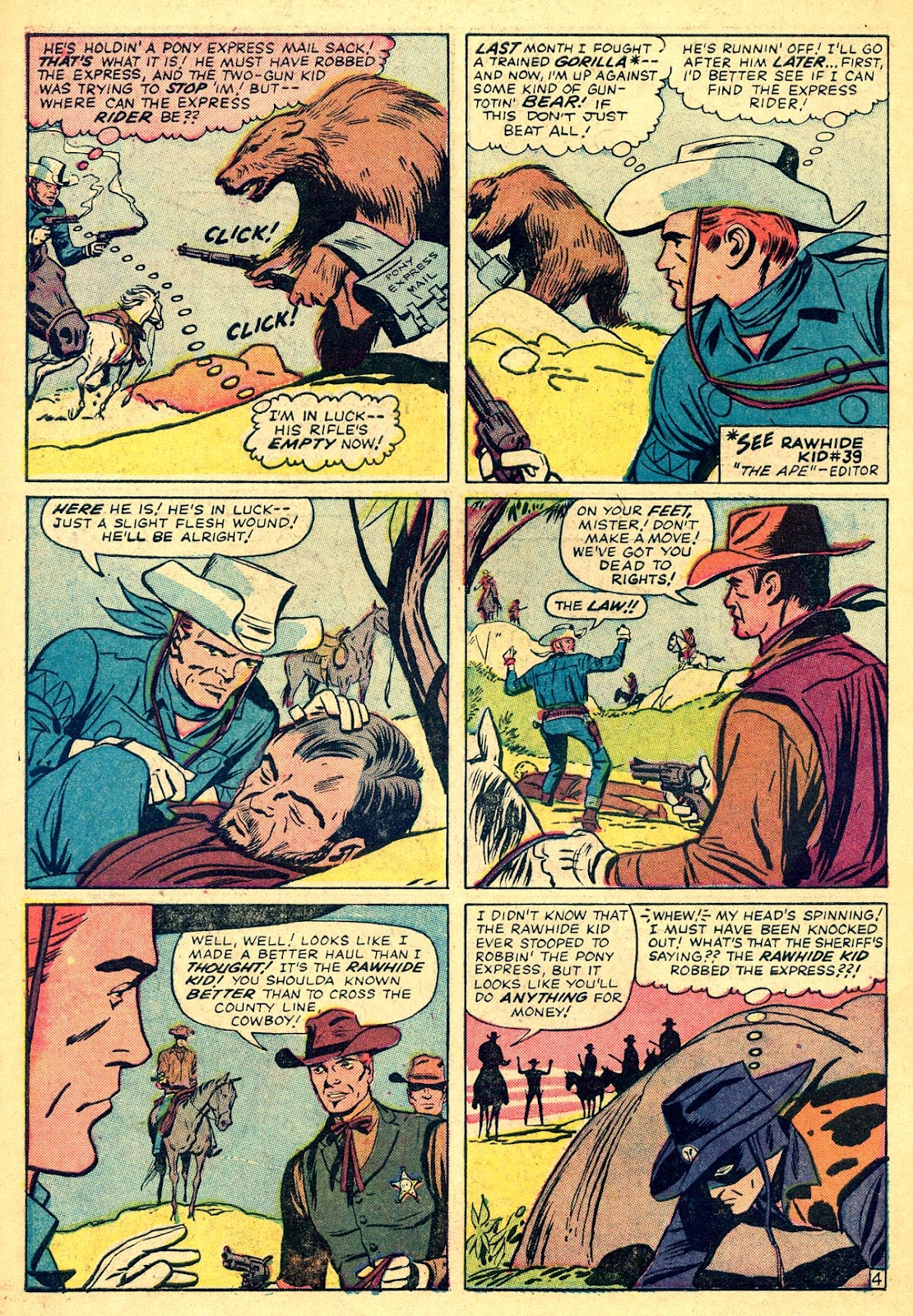 The Rawhide Kid (1955) issue 40 - Page 6