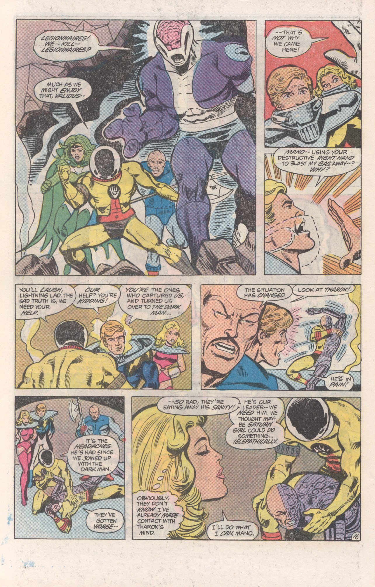 Legion of Super-Heroes (1980) 271 Page 16