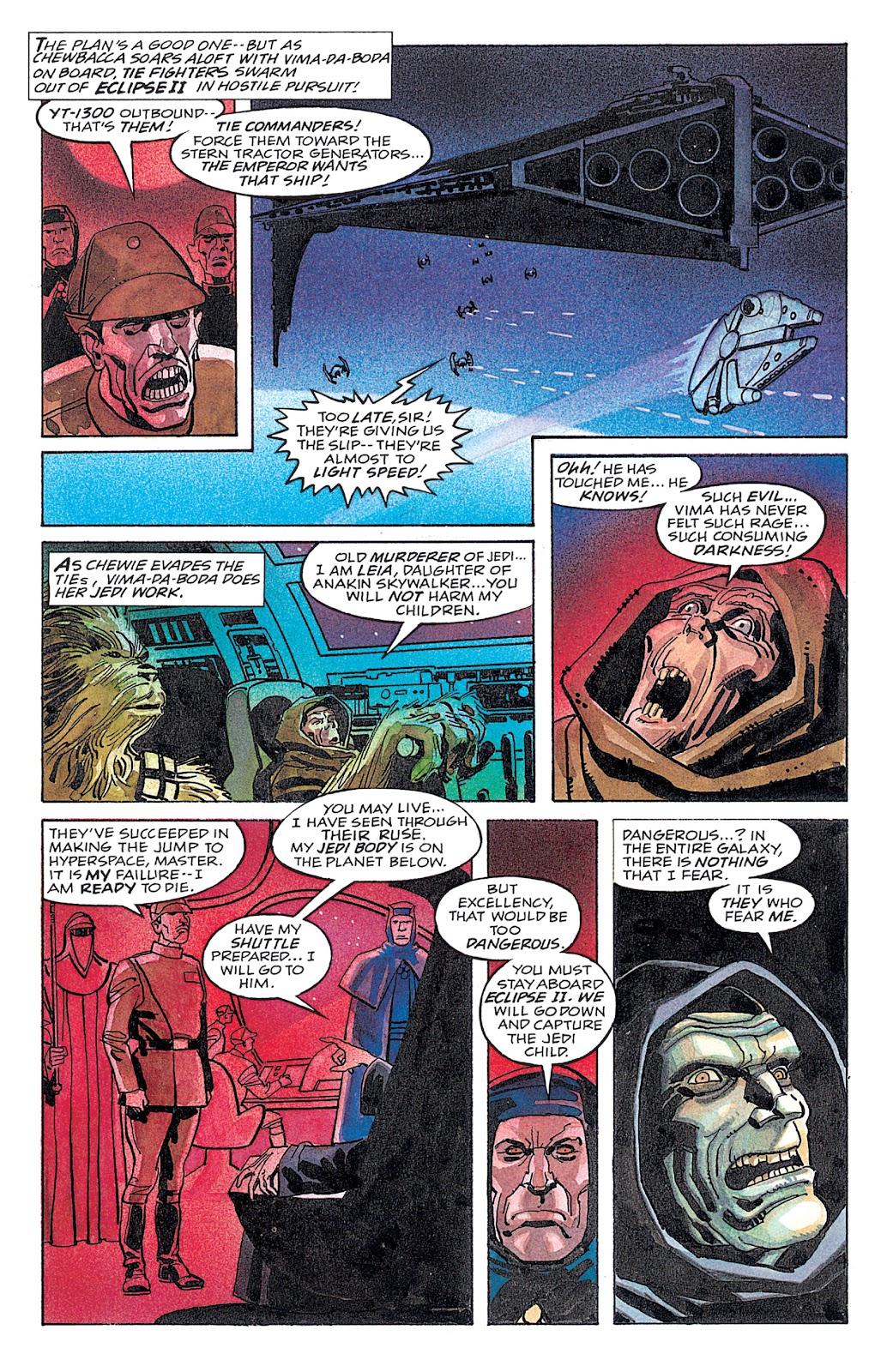Read online Star Wars: Dark Empire Trilogy comic -  Issue # TPB (Part 4) - 41