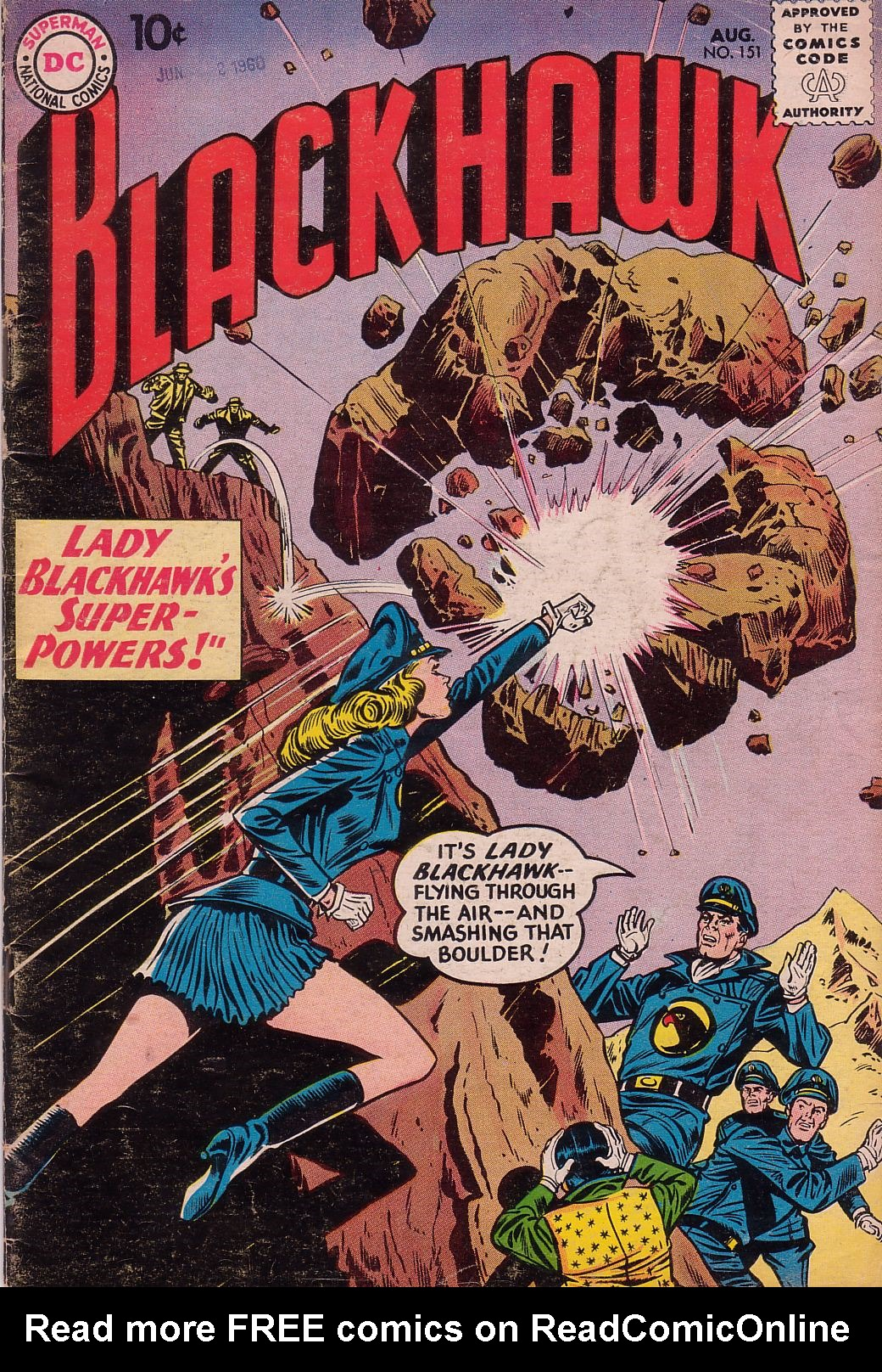 Blackhawk (1957) 151 Page 1