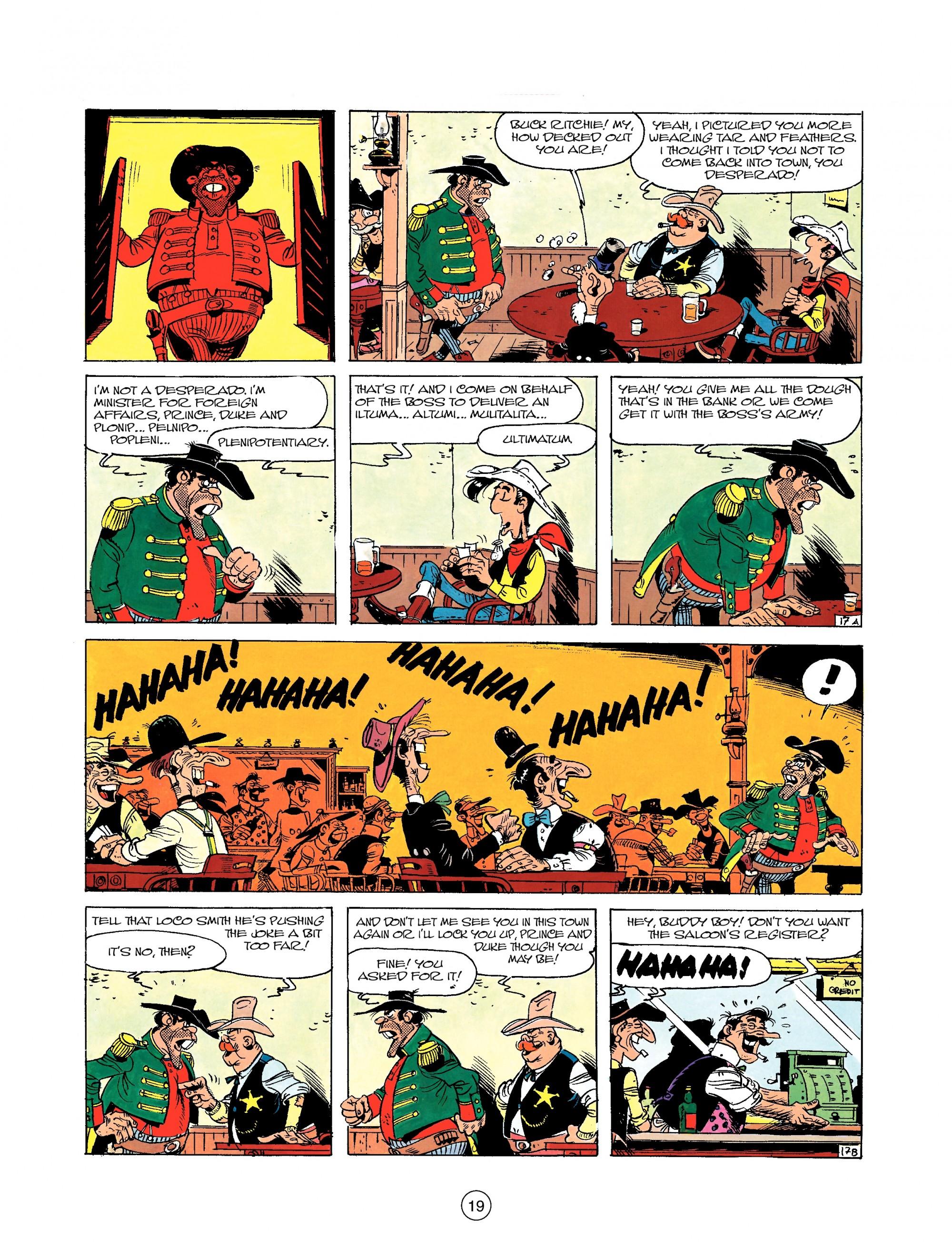 Read online A Lucky Luke Adventure comic -  Issue #22 - 19