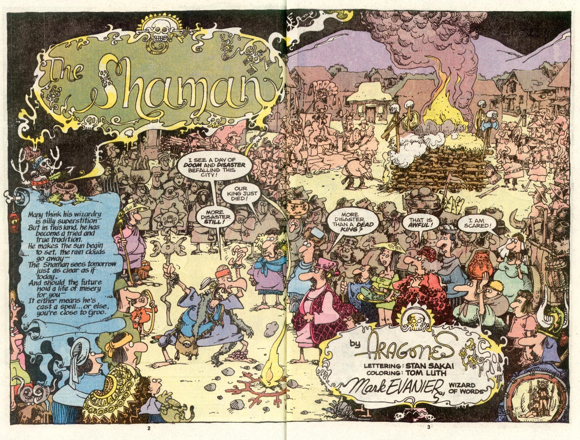 Read online Sergio Aragonés Groo the Wanderer comic -  Issue #72 - 3