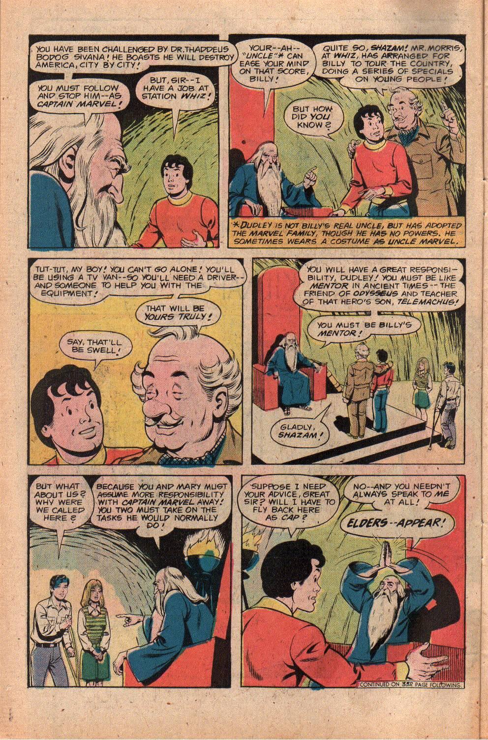 Read online Shazam! (1973) comic -  Issue #26 - 6