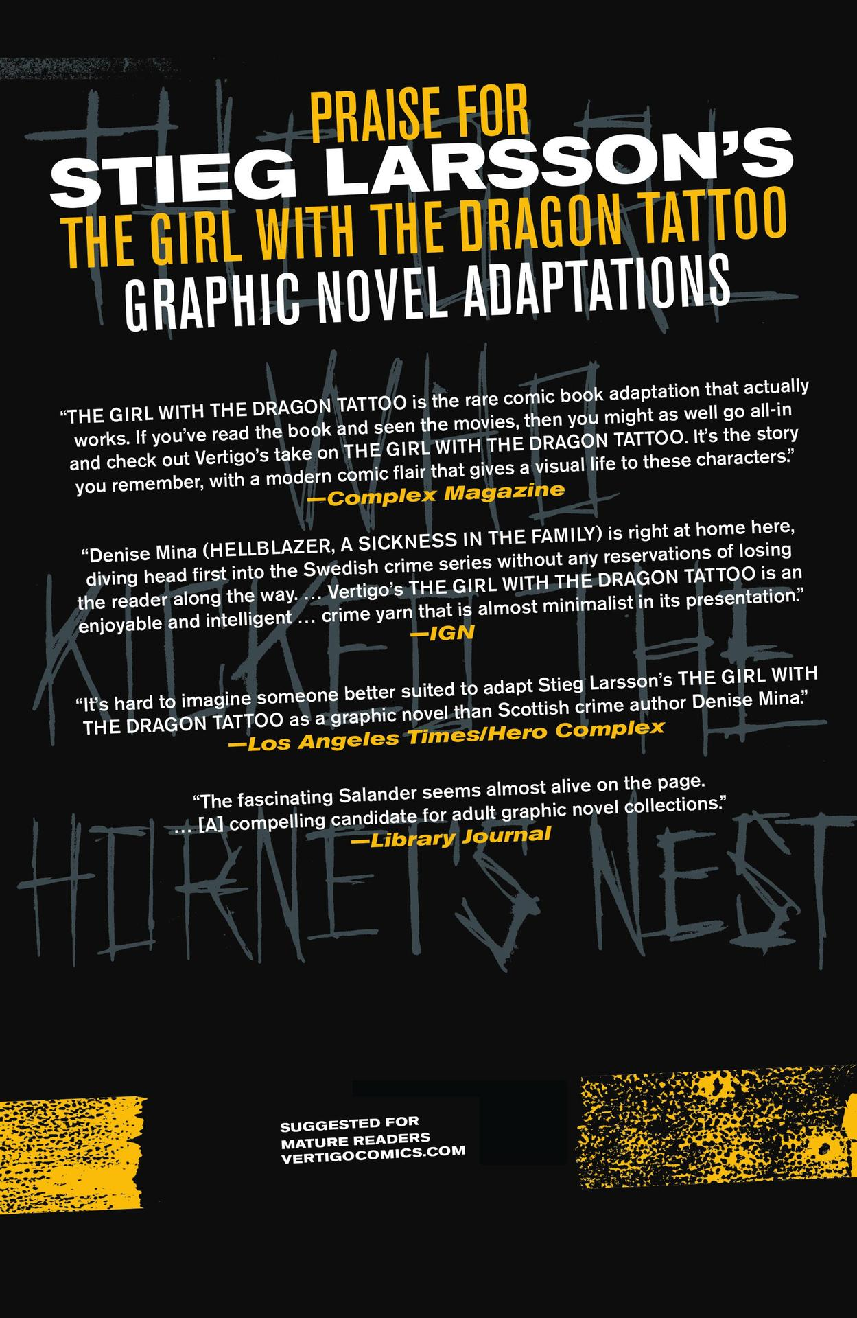 Read online The Girl Who Kicked The Hornet's Nest comic -  Issue # TPB - 269
